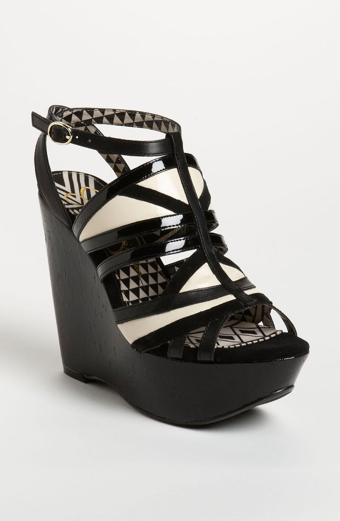 Alternate Image 1 Selected - Jessica Simpson 'Krisella' Sandal