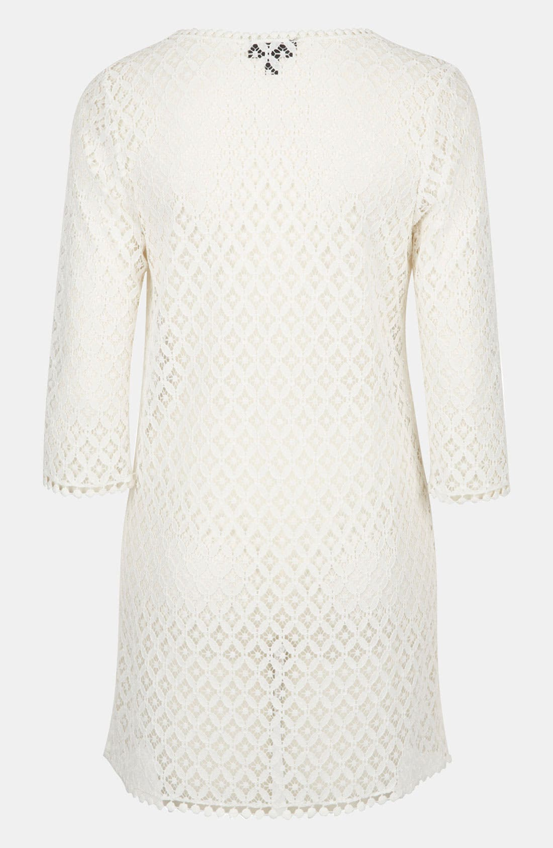 Alternate Image 2  - Topshop 'Lizzie' Lace Cover-Up