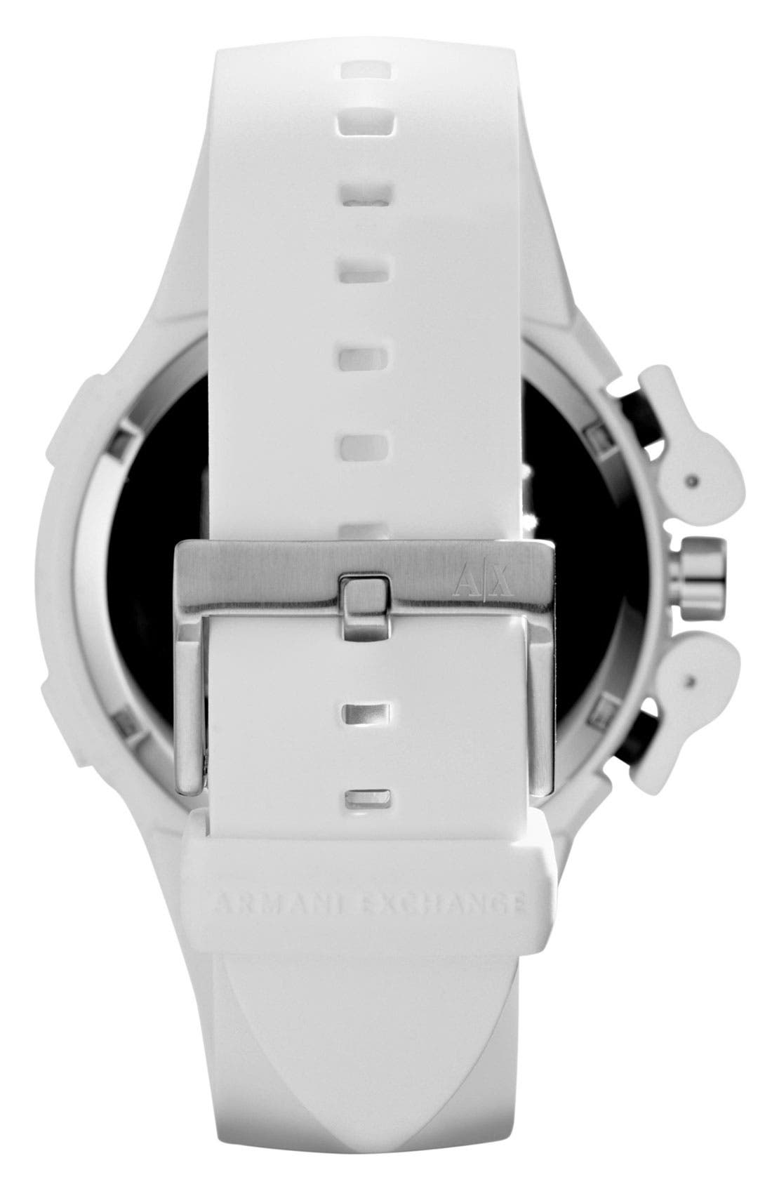 Alternate Image 3  - AX Armani Exchange Dual Movement Watch, 47mm