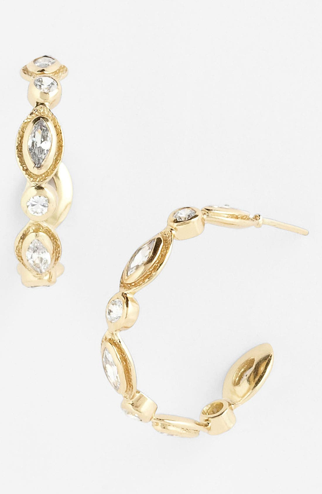Main Image - Melinda Maria 'Gwyneth' Small Hoop Earrings