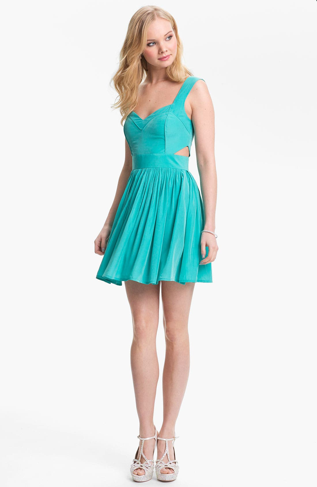 Main Image - Keepsake the Label Side Cutout Fit & Flare Dress
