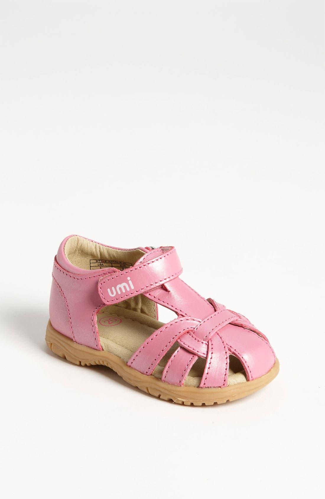 Alternate Image 1 Selected - Umi 'Natalia' Sandal (Baby, Walker & Toddler)