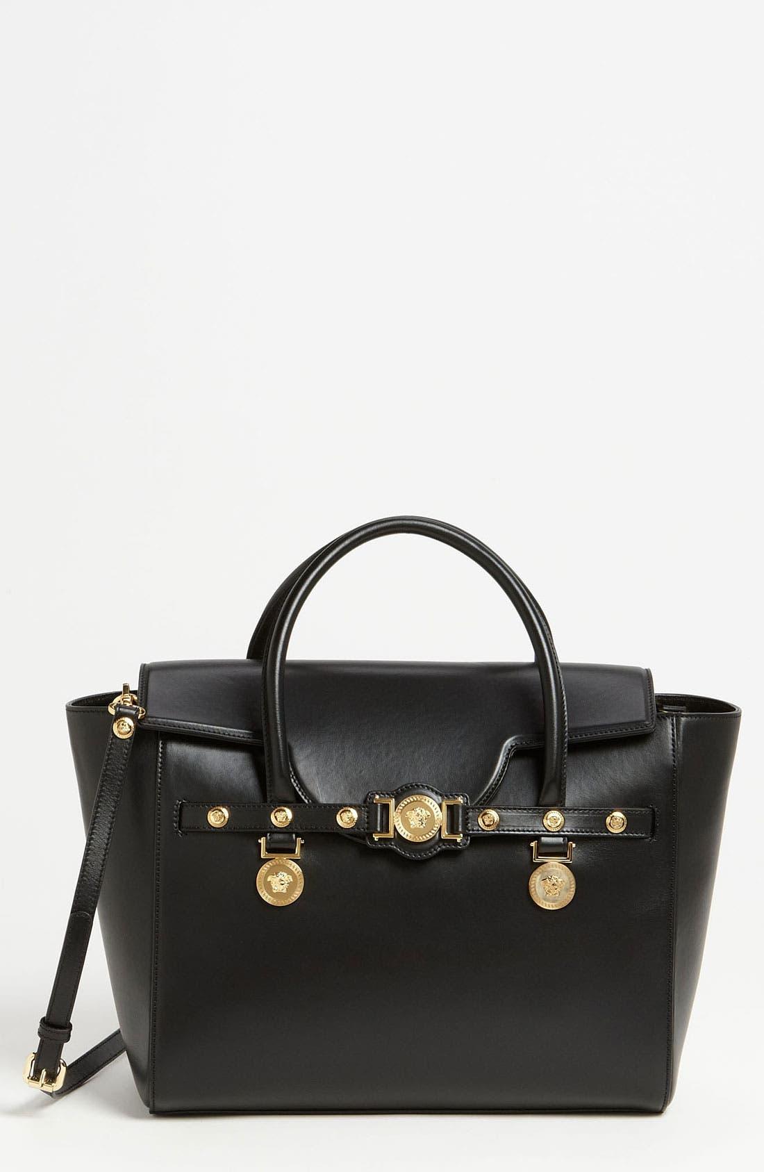 Main Image - Versace 'Classic' Leather Satchel