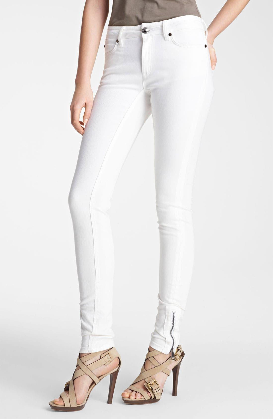 Main Image - Burberry London Skinny Stretch Jeans