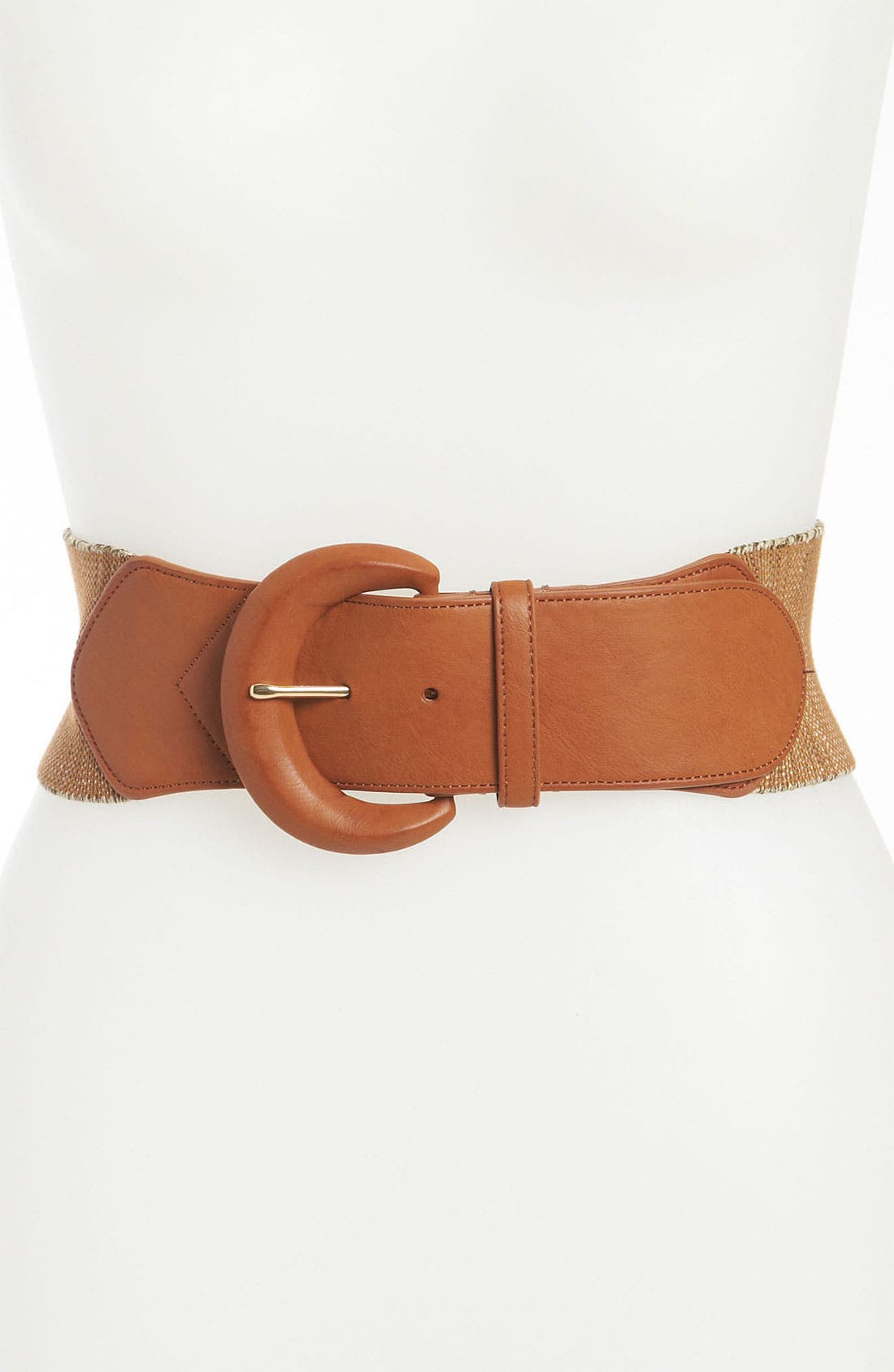 Alternate Image 1 Selected - Lauren Ralph Lauren Stretch Belt