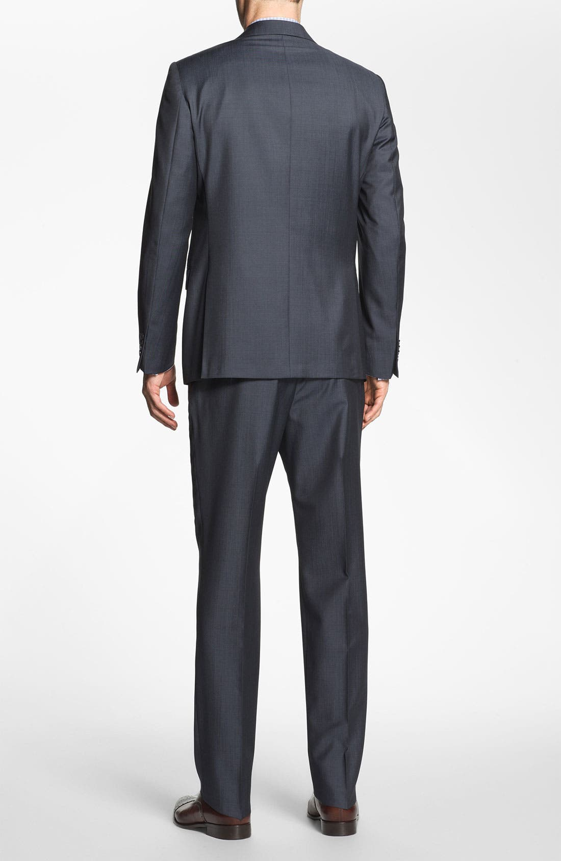 Alternate Image 3  - Michael Kors Trim Fit Twill Suit