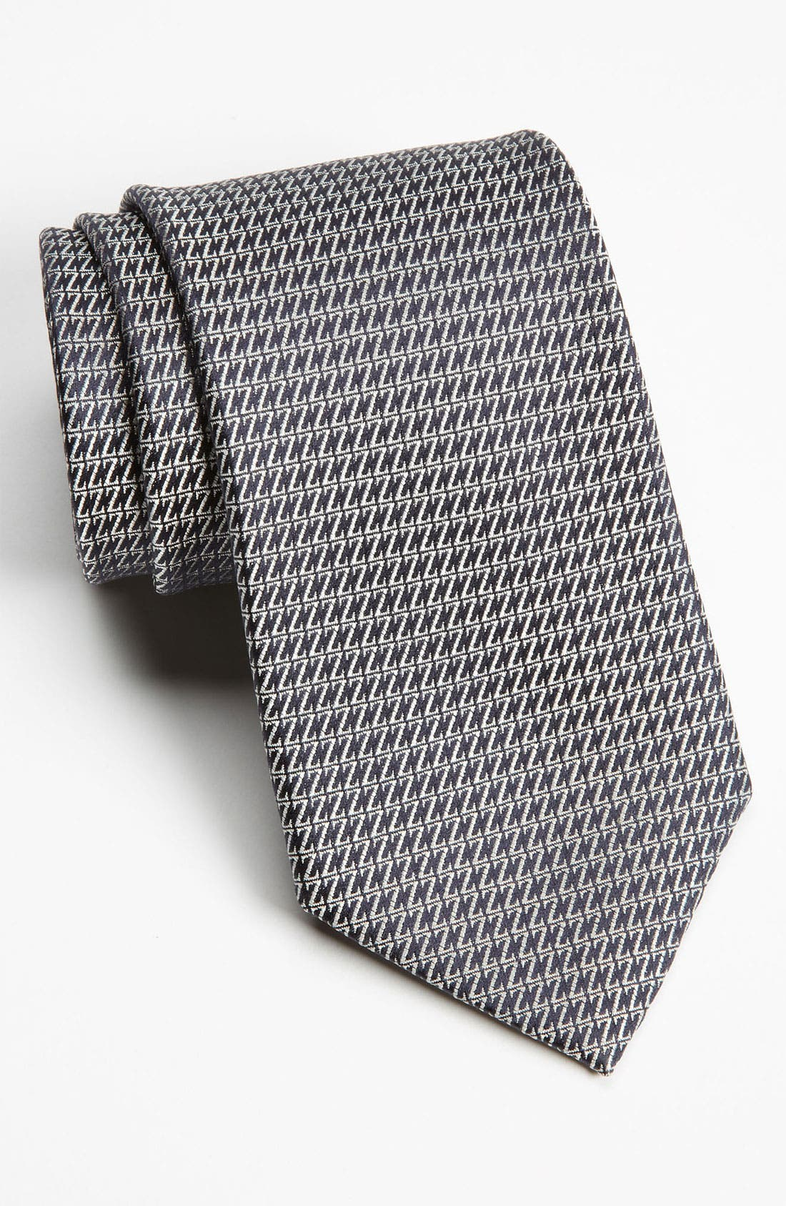 Alternate Image 1 Selected - Z Zegna Z Pattern Woven Silk Tie