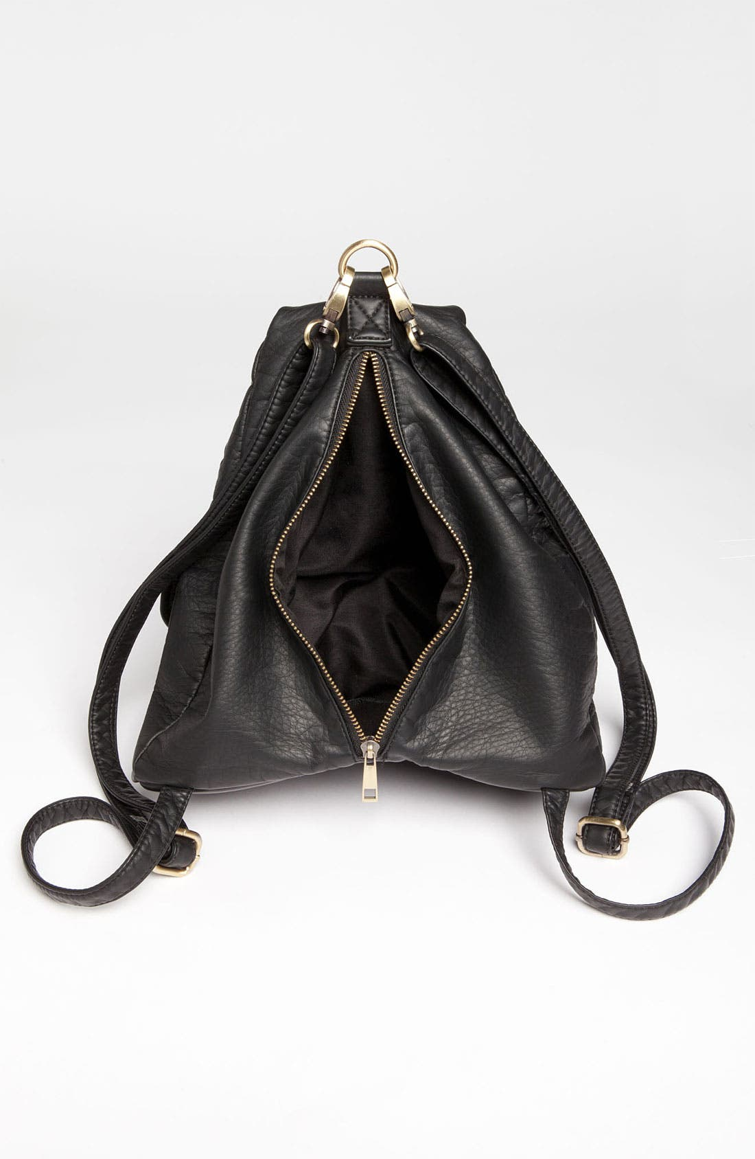 Alternate Image 3  - Cesca Faux Leather Backpack