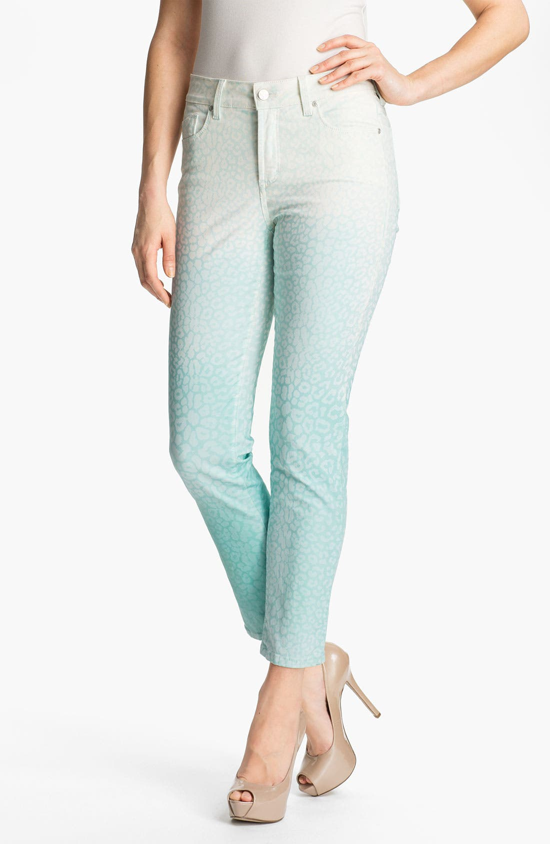 Alternate Image 1 Selected - NYDJ 'Alisha - Chevy' Skinny Stretch Ankle Jeans
