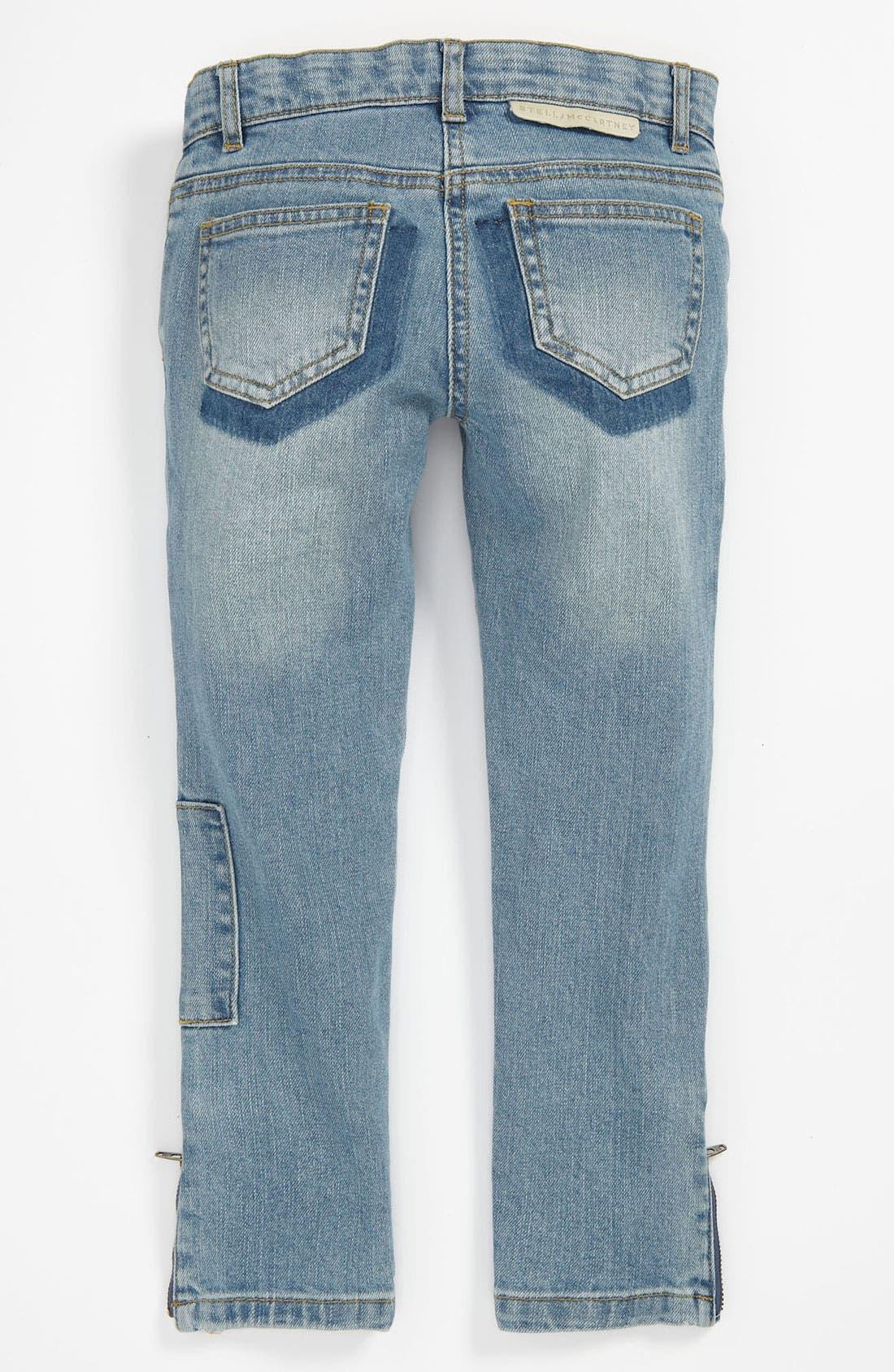 Main Image - Stella McCartney Kids 'Nina' Skinny Jeans (Toddler, Little Girls & Big Girls)