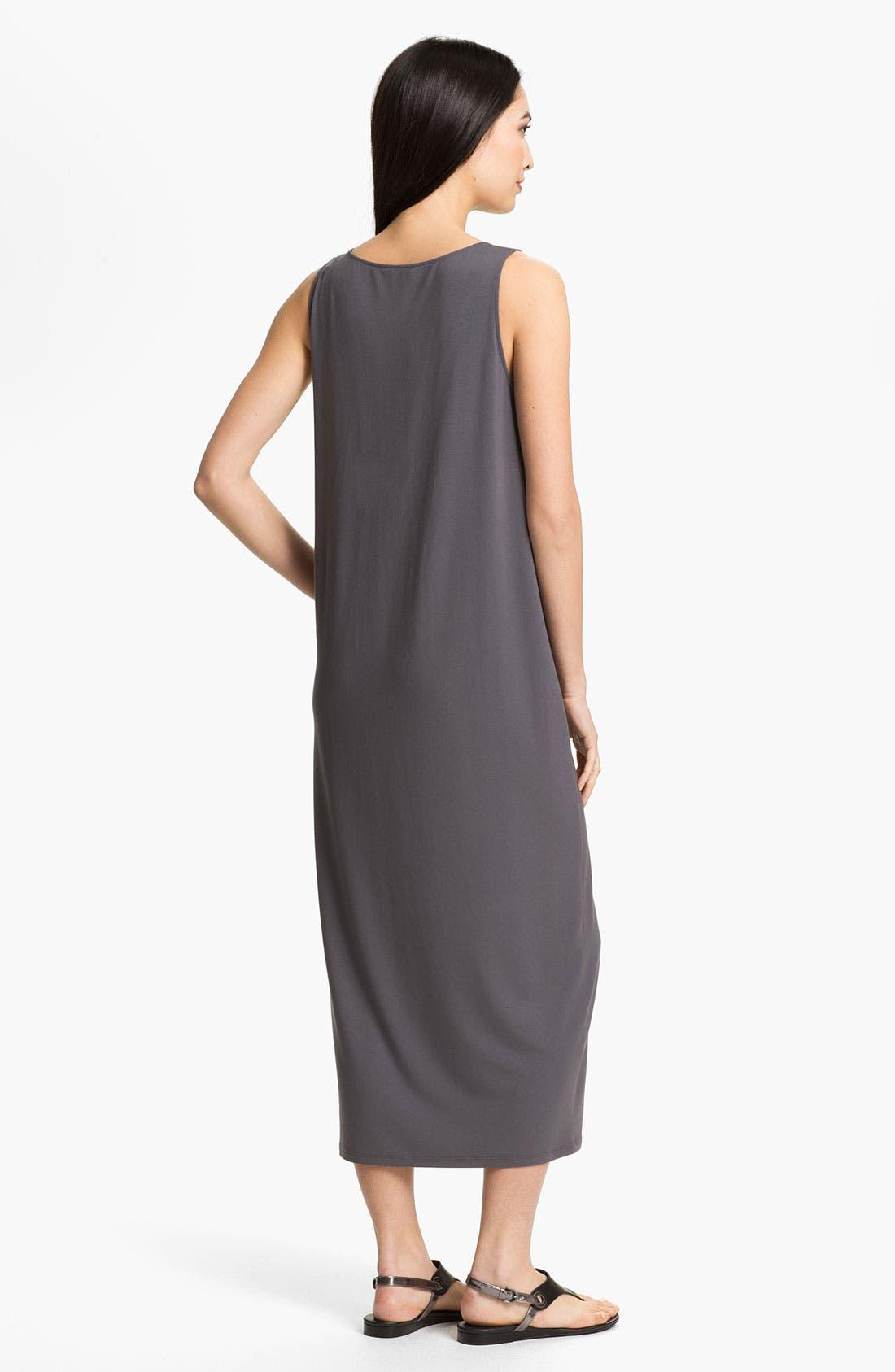 Alternate Image 2  - Eileen Fisher Scoop Neck Sleeveless Dress