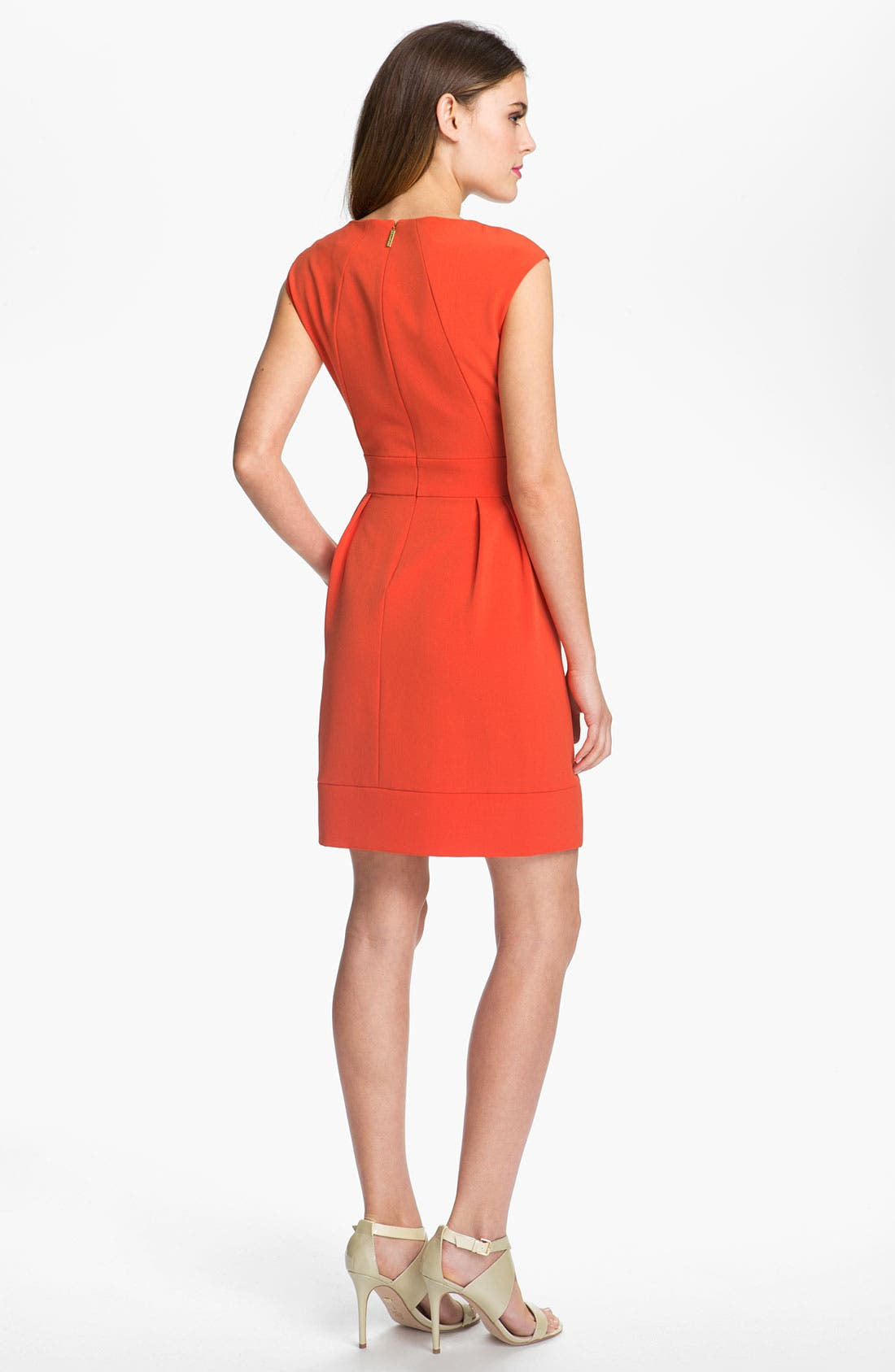 Alternate Image 2  - Donna Ricco Crepe Dress