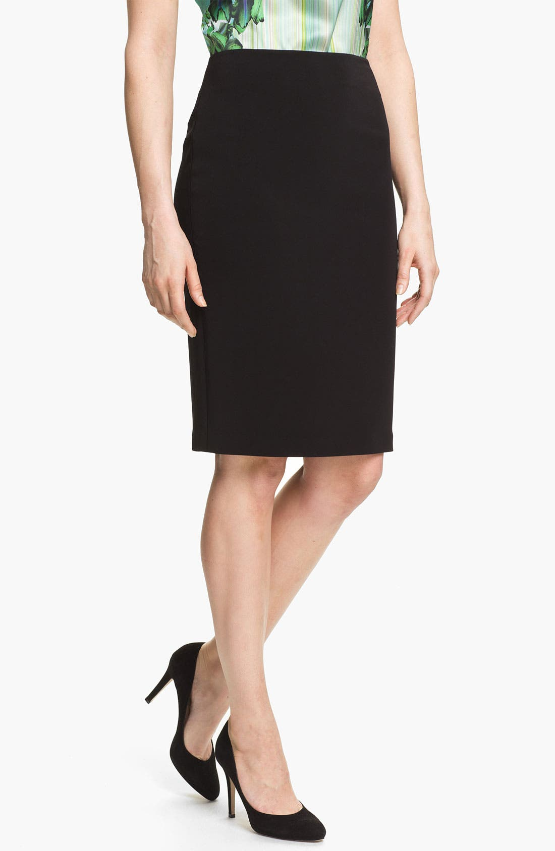 Alternate Image 1 Selected - Elie Tahari 'Penelope - Luxe Crepe' Skirt