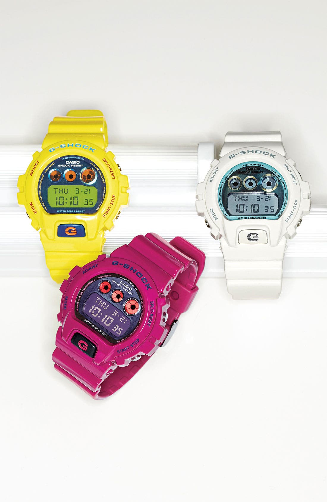 Alternate Image 3  - G-Shock 'Polarized' Digital Watch, 53mm x 50mm