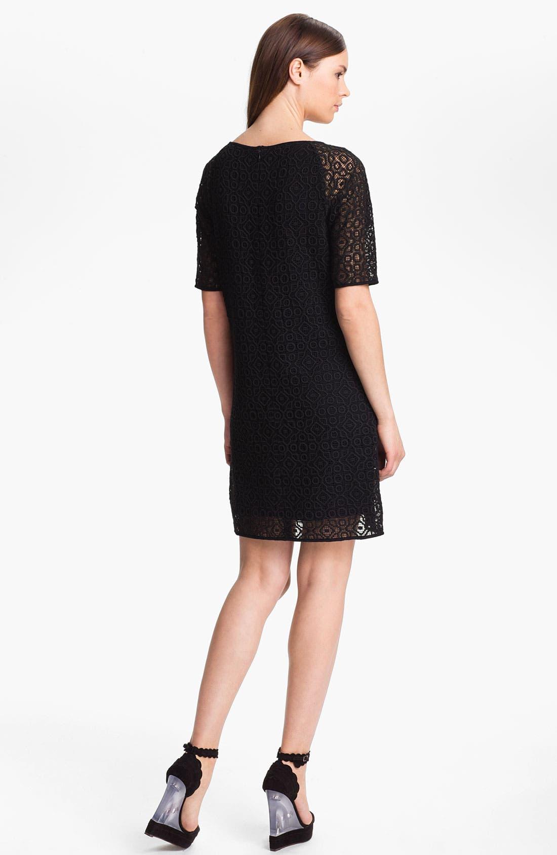 Alternate Image 2  - Tibi Geometric Lace Dress