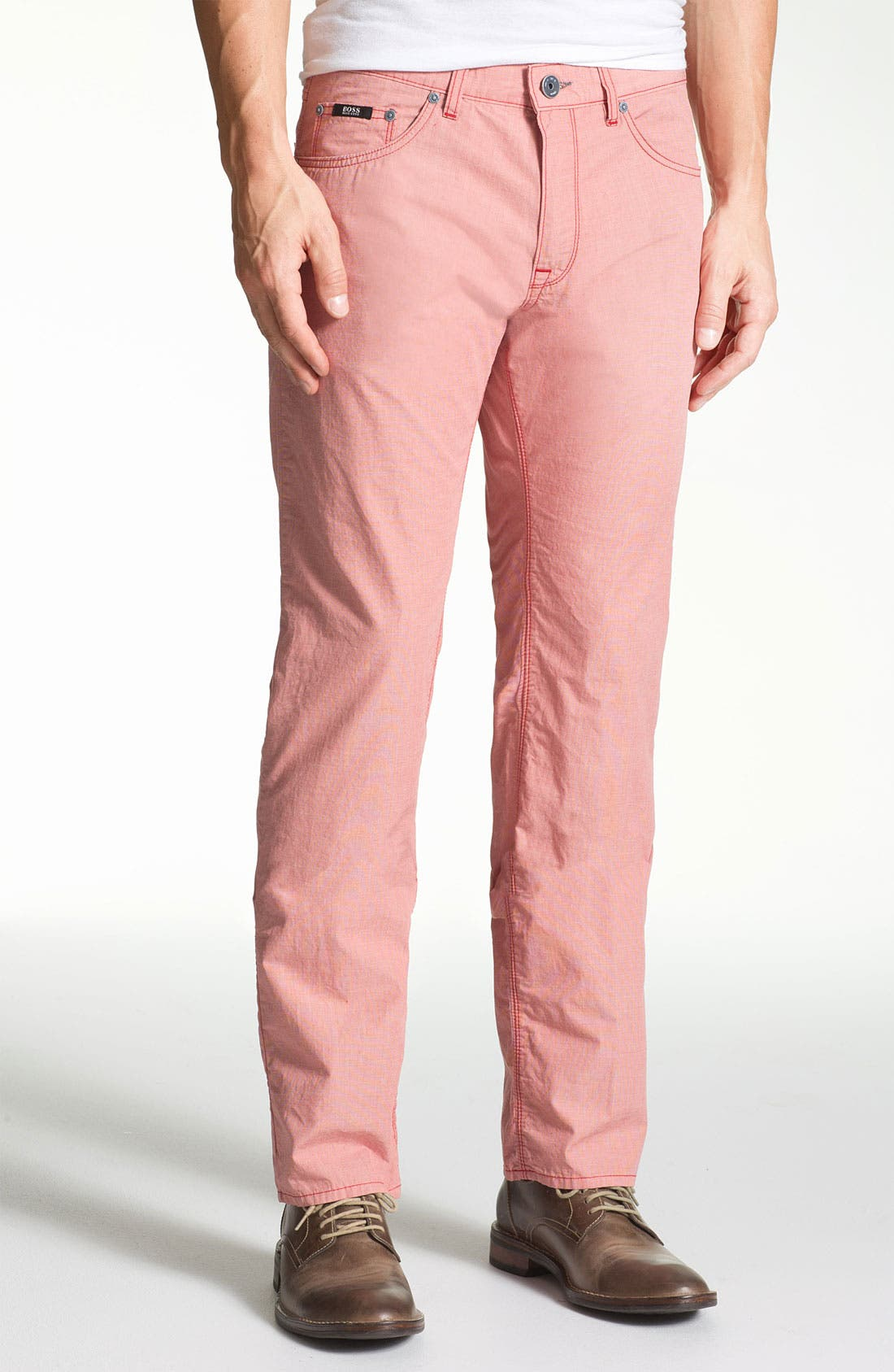 Alternate Image 1 Selected - BOSS HUGO BOSS 'Maine' Regular Fit Pants