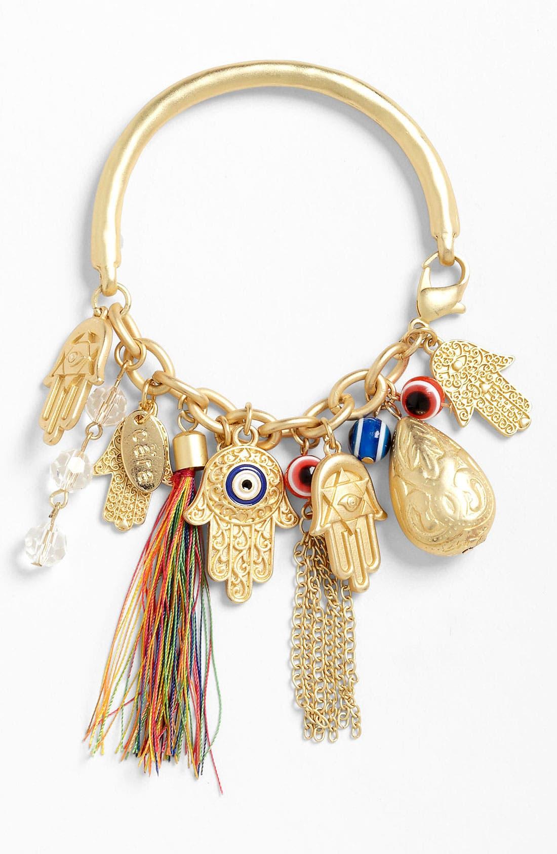 Alternate Image 1 Selected - Cara Charm Bracelet
