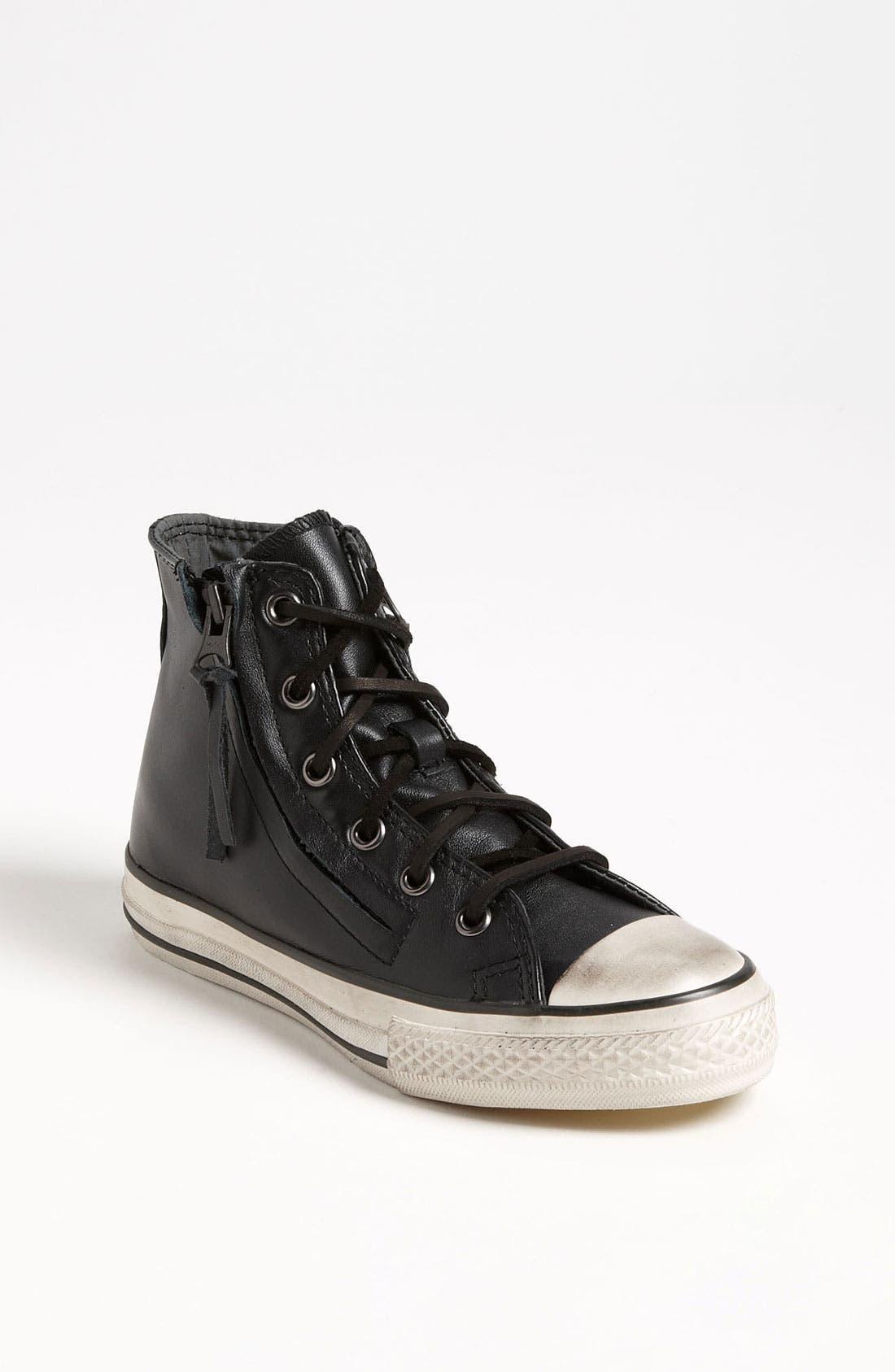 Alternate Image 1 Selected - Converse by John Varvatos 'Double Zip' High Top Sneaker (Toddler, Little Kid & Big Kid)