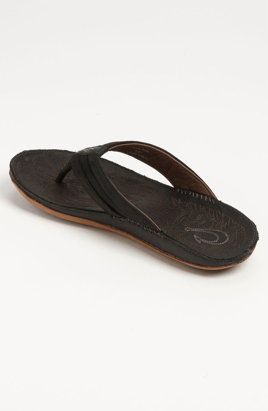 Alternate Image 2  - OluKai 'Kava' Flip Flop (Men)