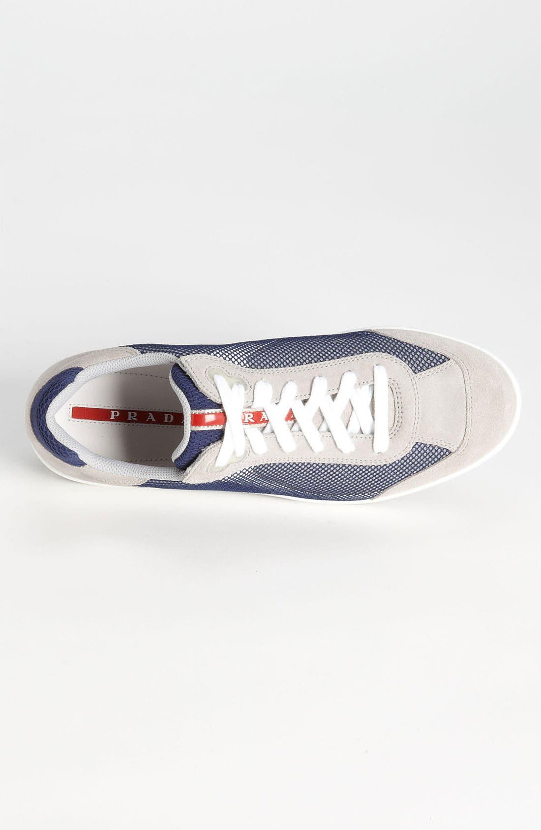 Alternate Image 3  - Prada Colored Mesh Sneaker