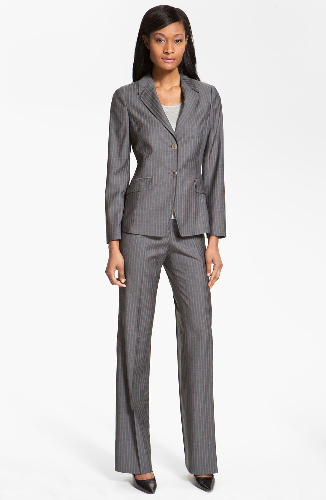 Alternate Image 4  - Santorelli 'Mara' Wool Pants