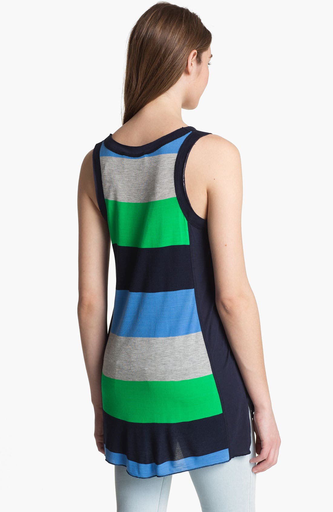 Alternate Image 2  - Two by Vince Camuto Rugby Stripe Tank