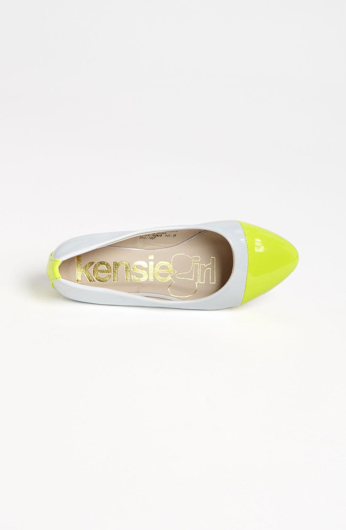 Alternate Image 3  - kensie girl Ballerina Flat (Toddler, Little Kid & Big Kid)