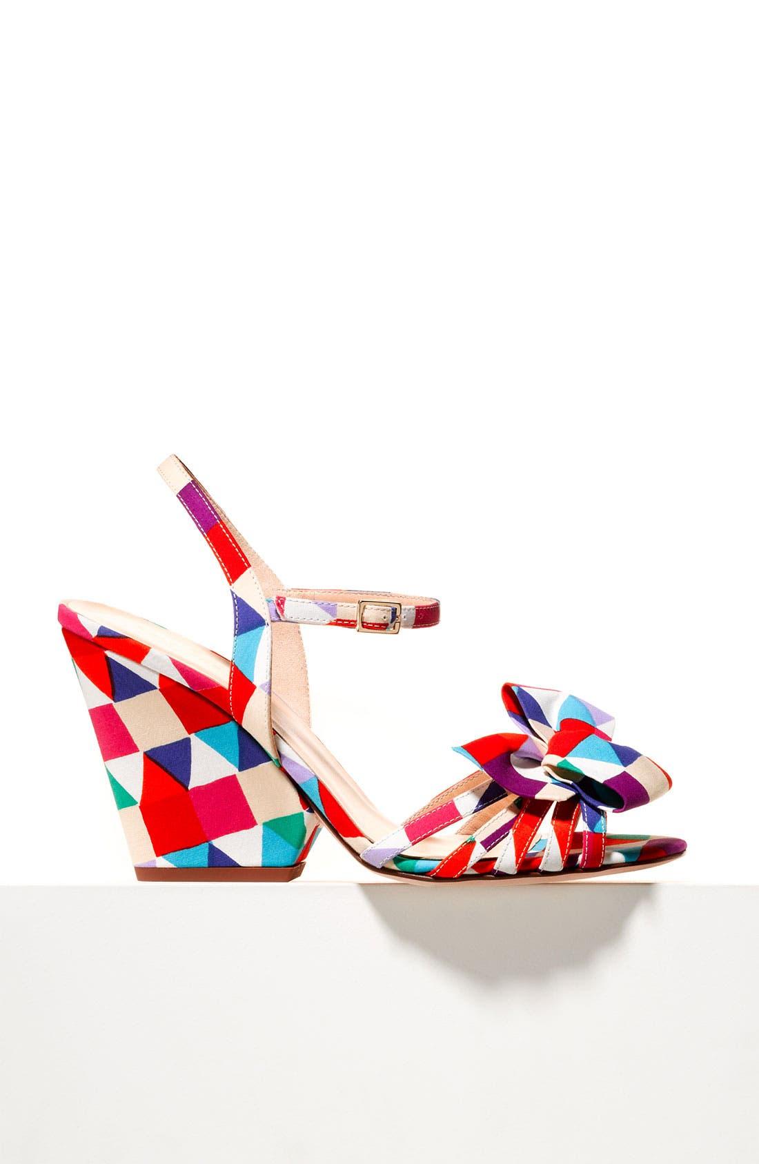 Alternate Image 5  - kate spade new york 'salem' wedge sandal