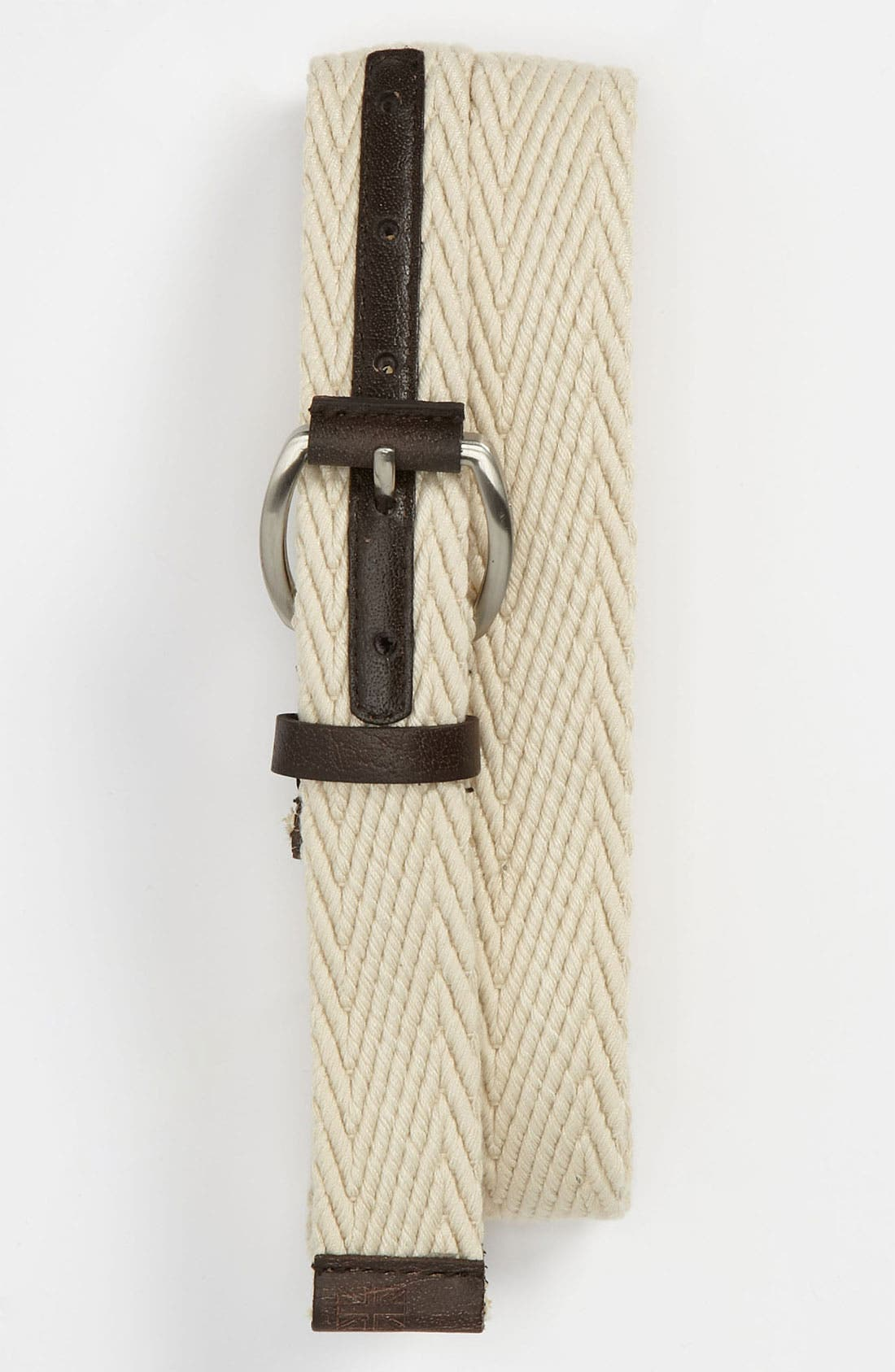 Alternate Image 1 Selected - Ben Sherman Herringbone Web Belt