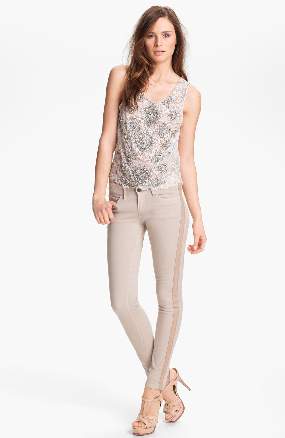 Alternate Image 1 Selected - Haute Hippie 'Deco' Lace Top