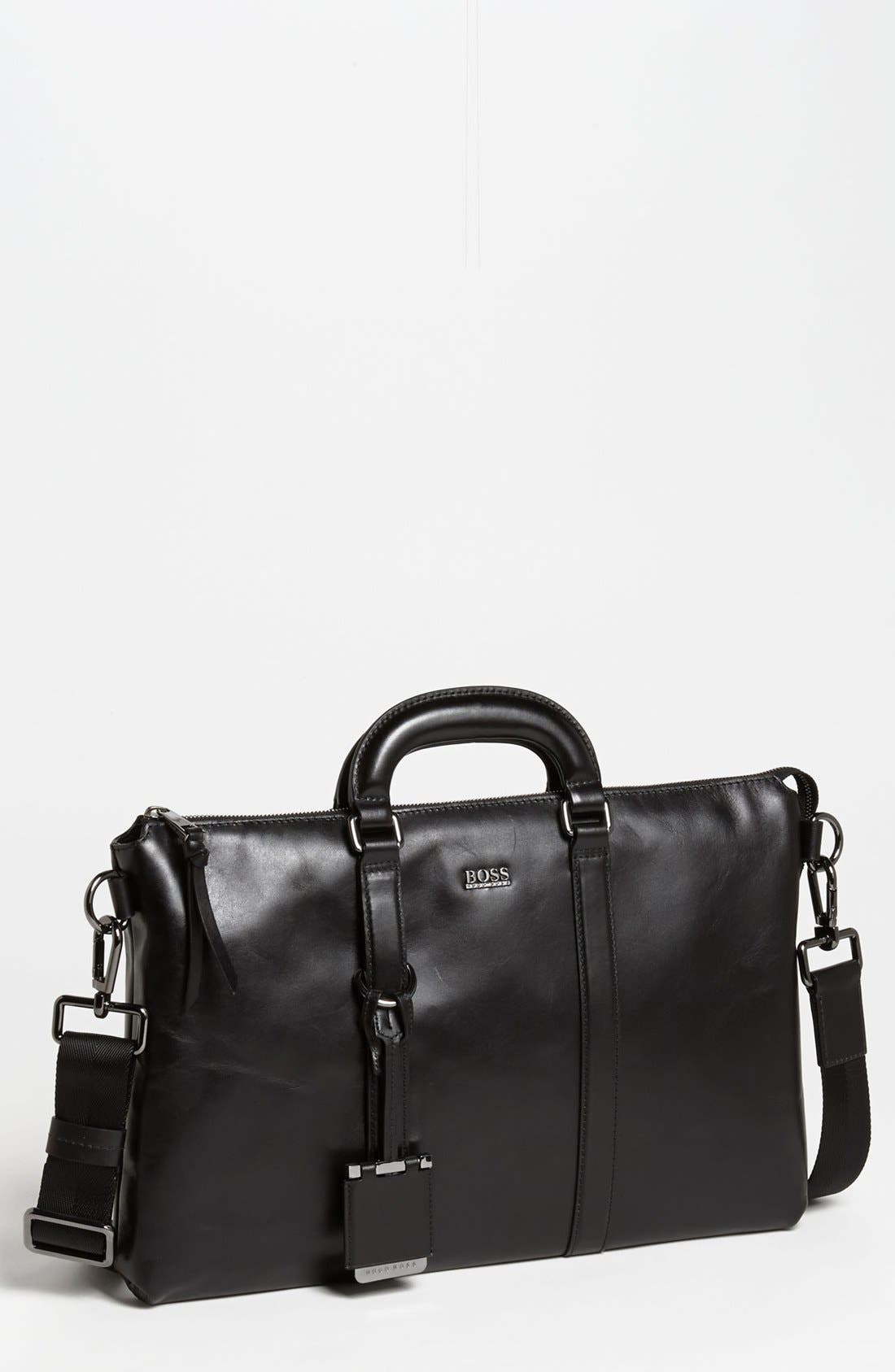 Alternate Image 1 Selected - BOSS Black 'Piris' Briefcase