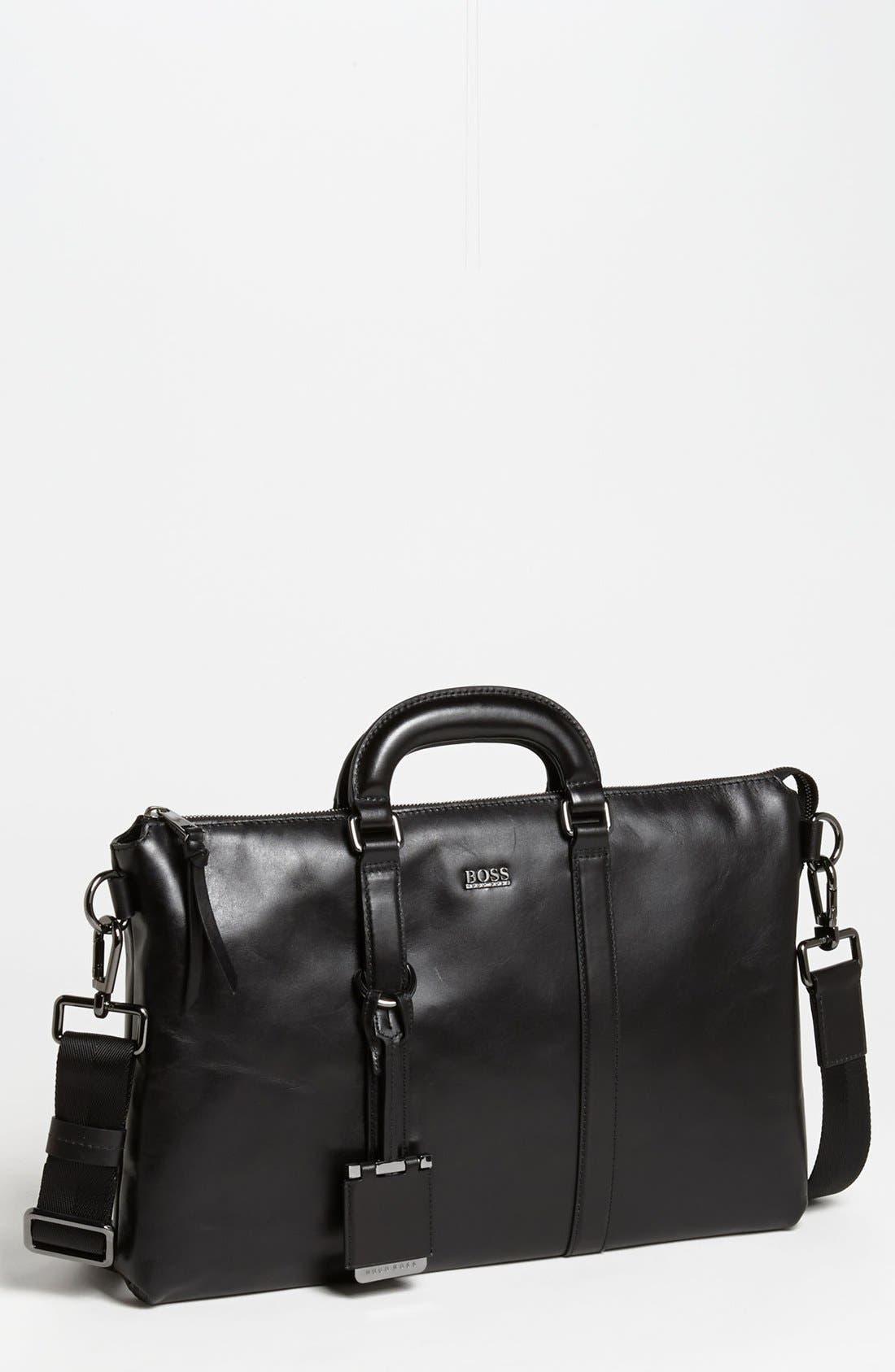 Alternate Image 1 Selected - BOSS Black 'Piris' Briefcase