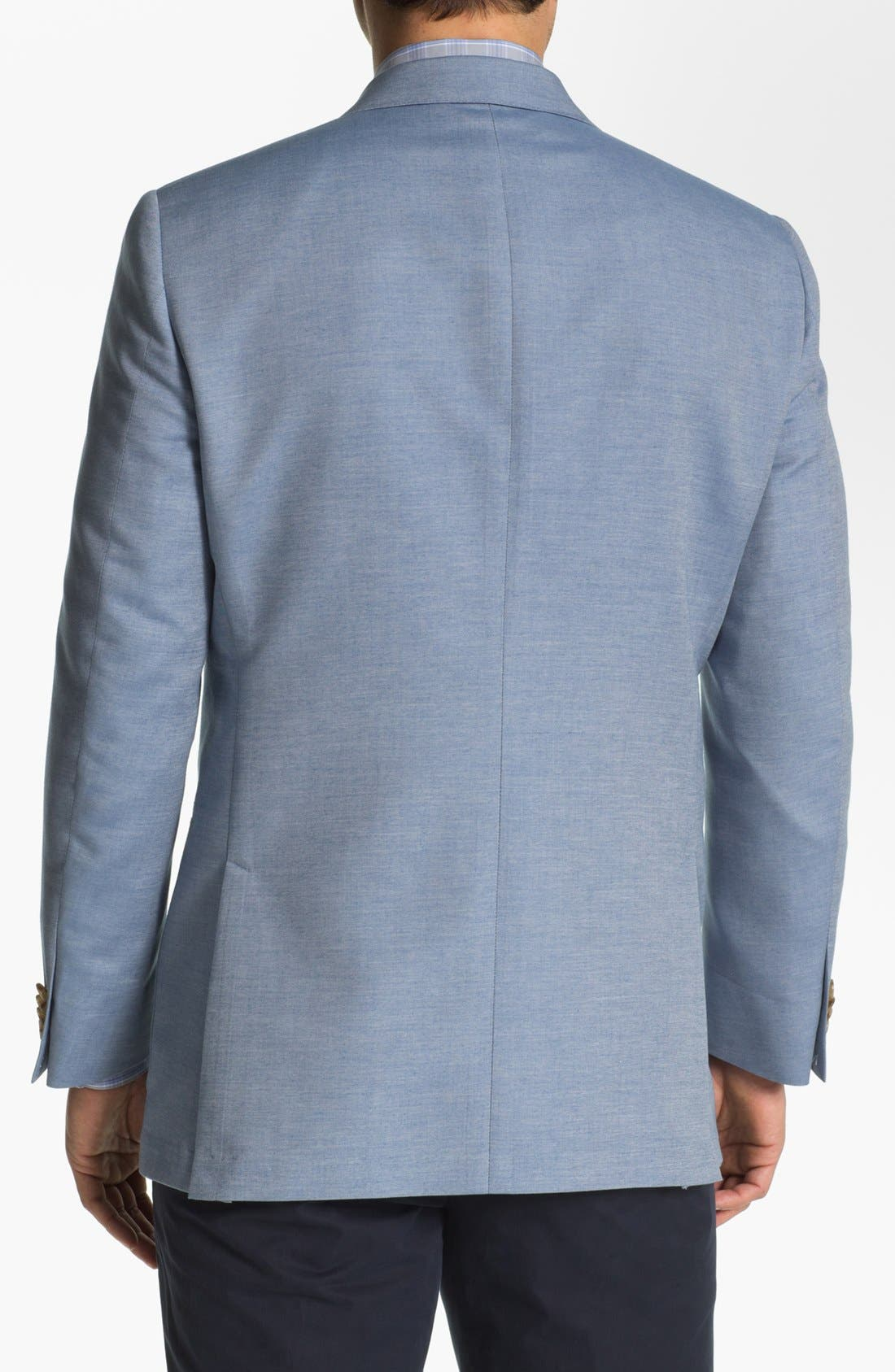 Alternate Image 3  - Hart Schaffner Marx Cotton Blend Blazer