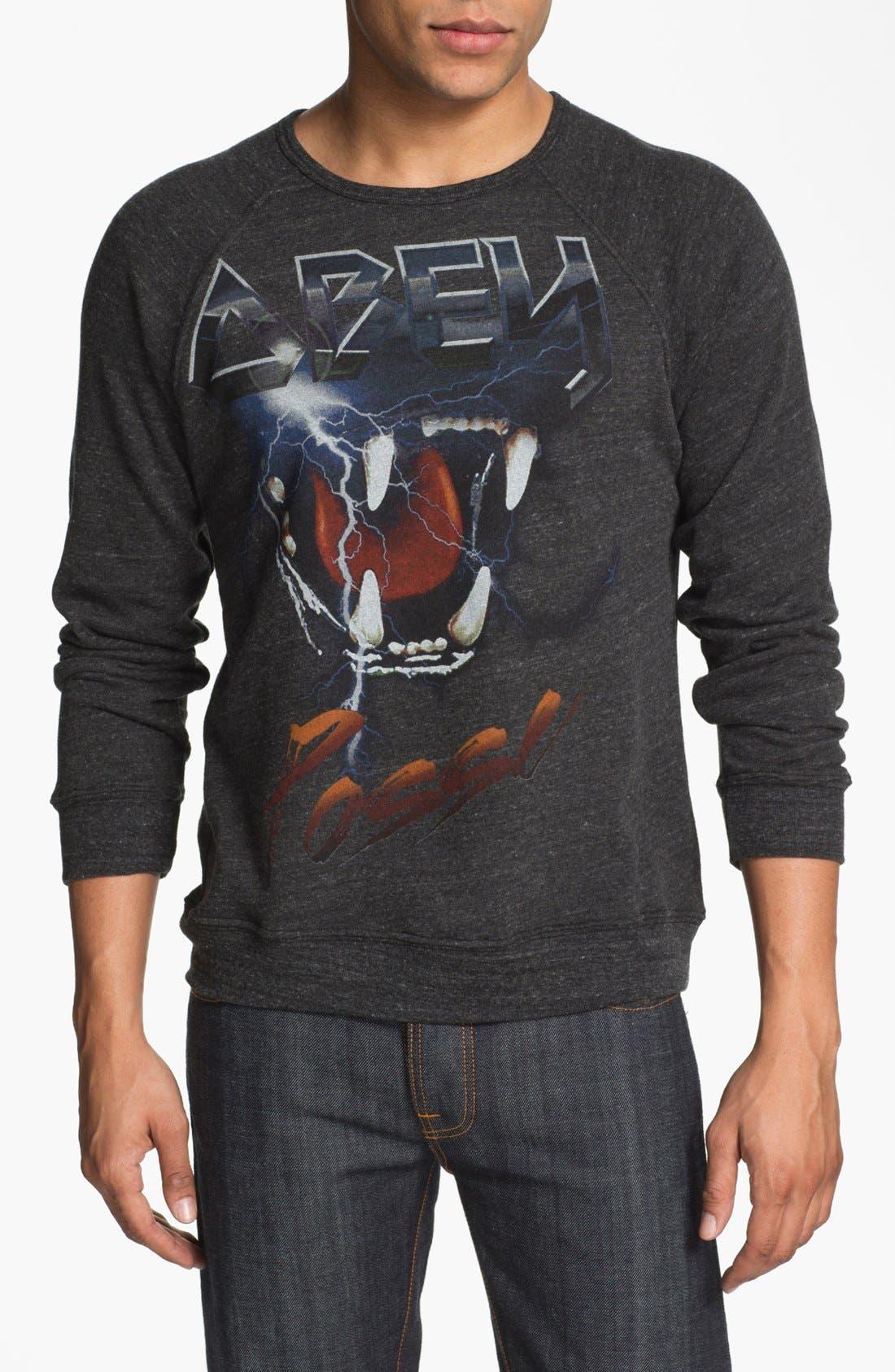 Alternate Image 1 Selected - Obey 'Lightning Tour' Sweatshirt