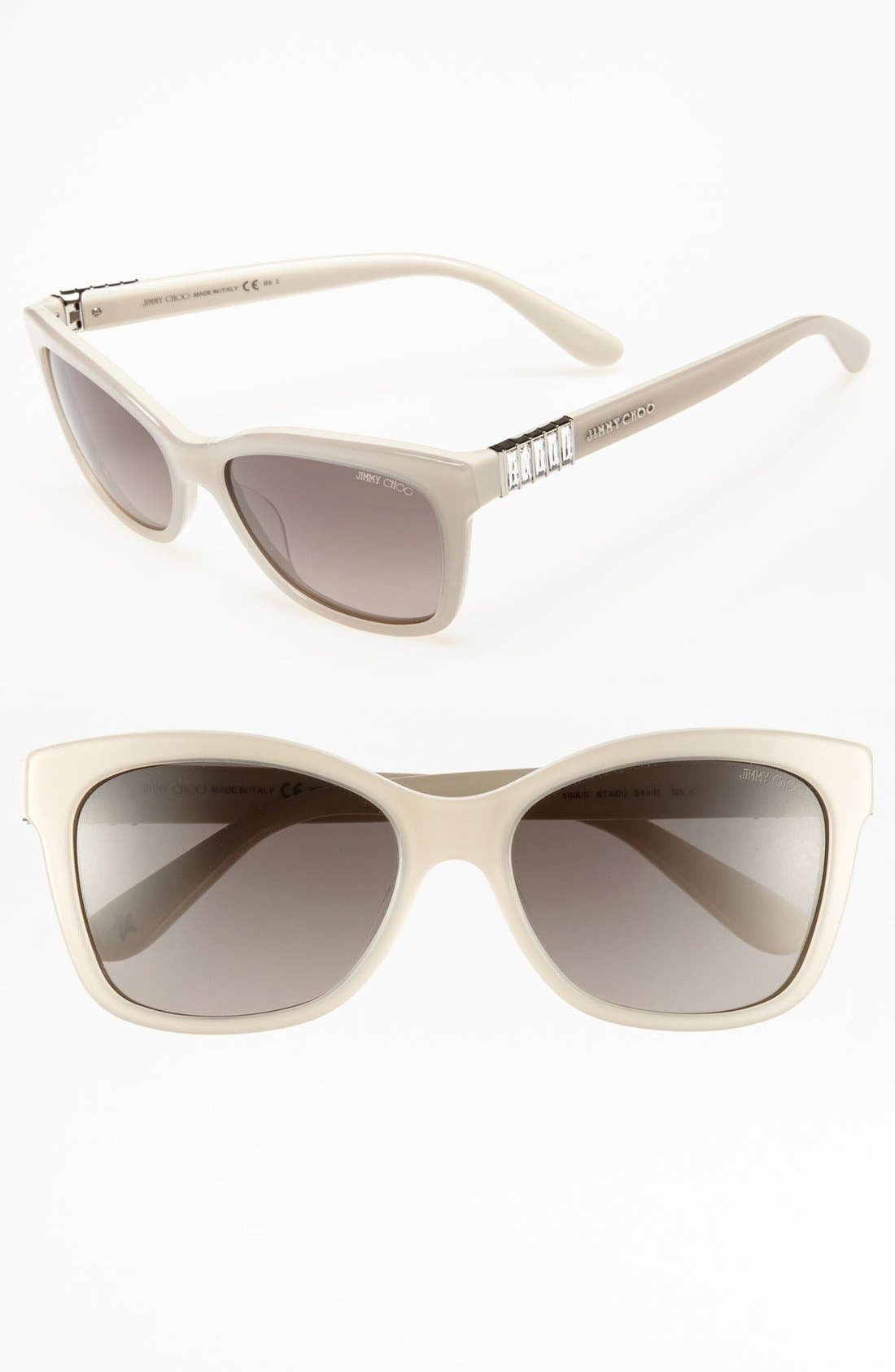 Alternate Image 1 Selected - Jimmy Choo 'Mimi' 54mm Sunglasses