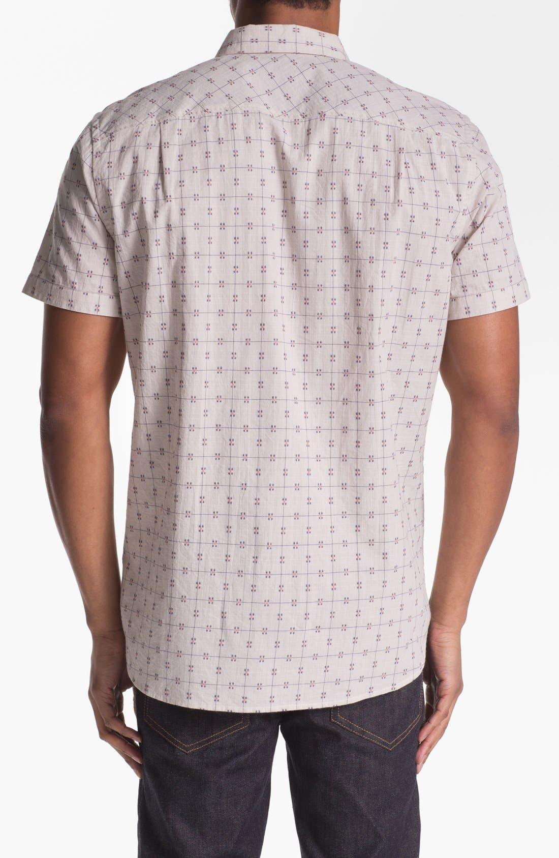 Alternate Image 2  - 7 For All Mankind® Dobby Woven Shirt