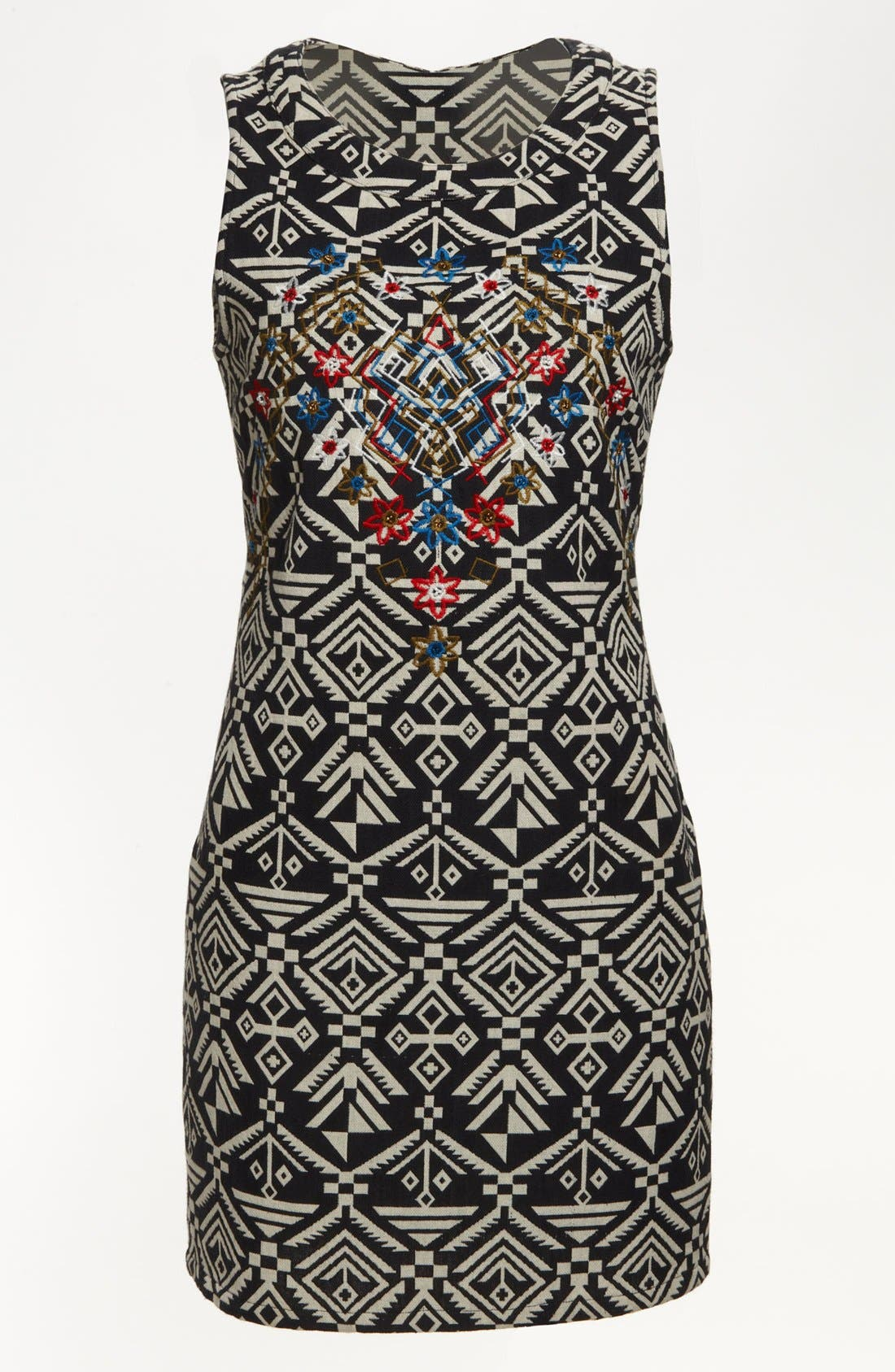 Alternate Image 1 Selected - ASTR Tribal Print Body-Con Dress