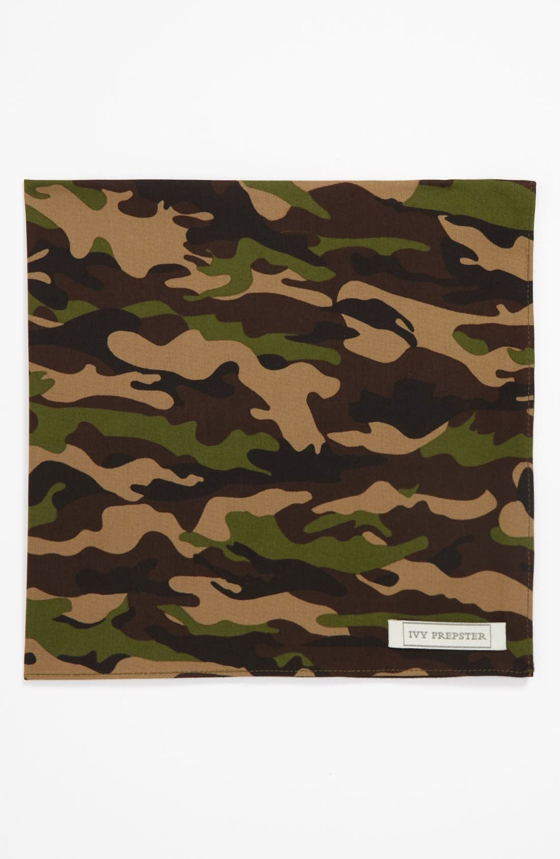 Main Image - Ivy Prepster 'Reflect Camouflage' Pocket Square