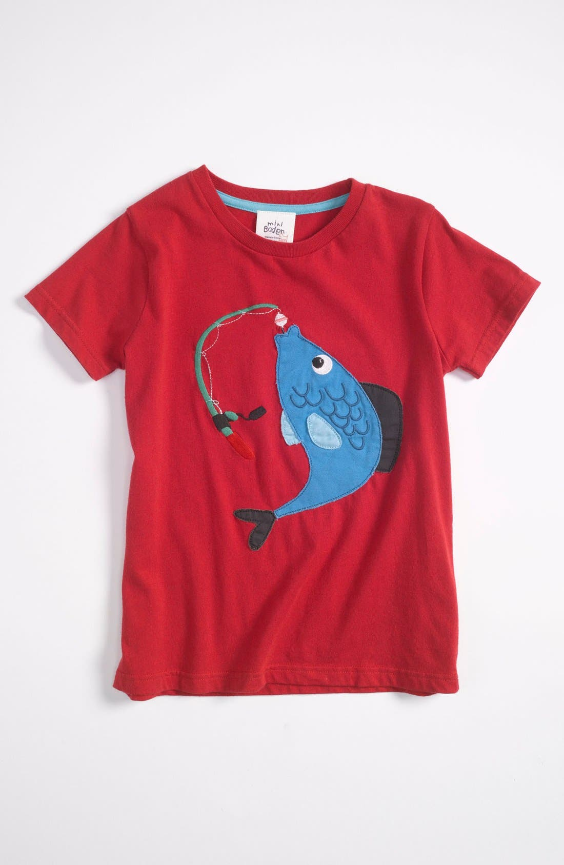 Main Image - Mini Boden 'Rock' T-Shirt (Big Boys)