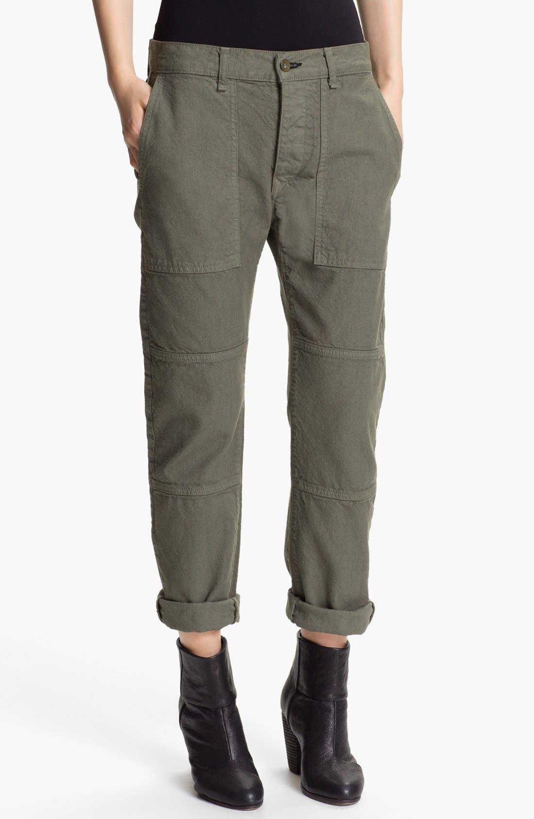 Alternate Image 1 Selected - rag & bone/JEAN 'Brigade' Cargo Twill Pants