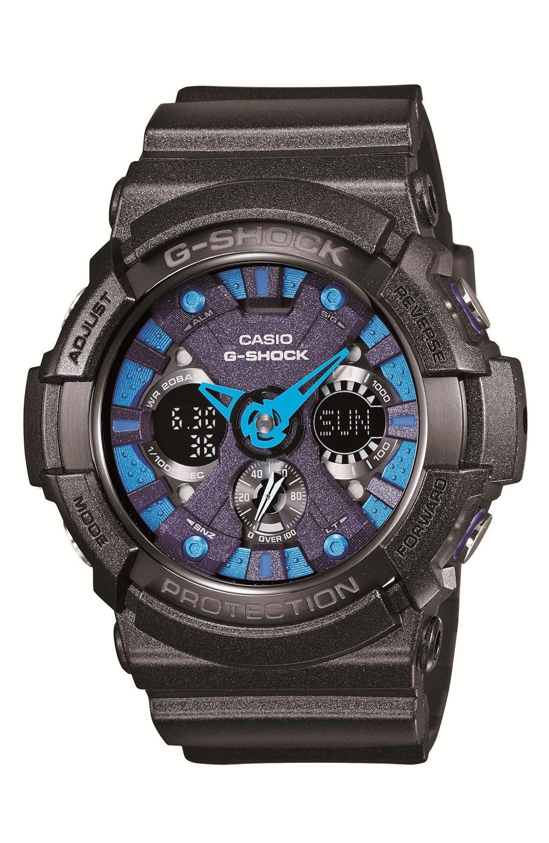 Main Image - G-Shock 'X-Large' Dual Movement Watch, 55mm x 51mm