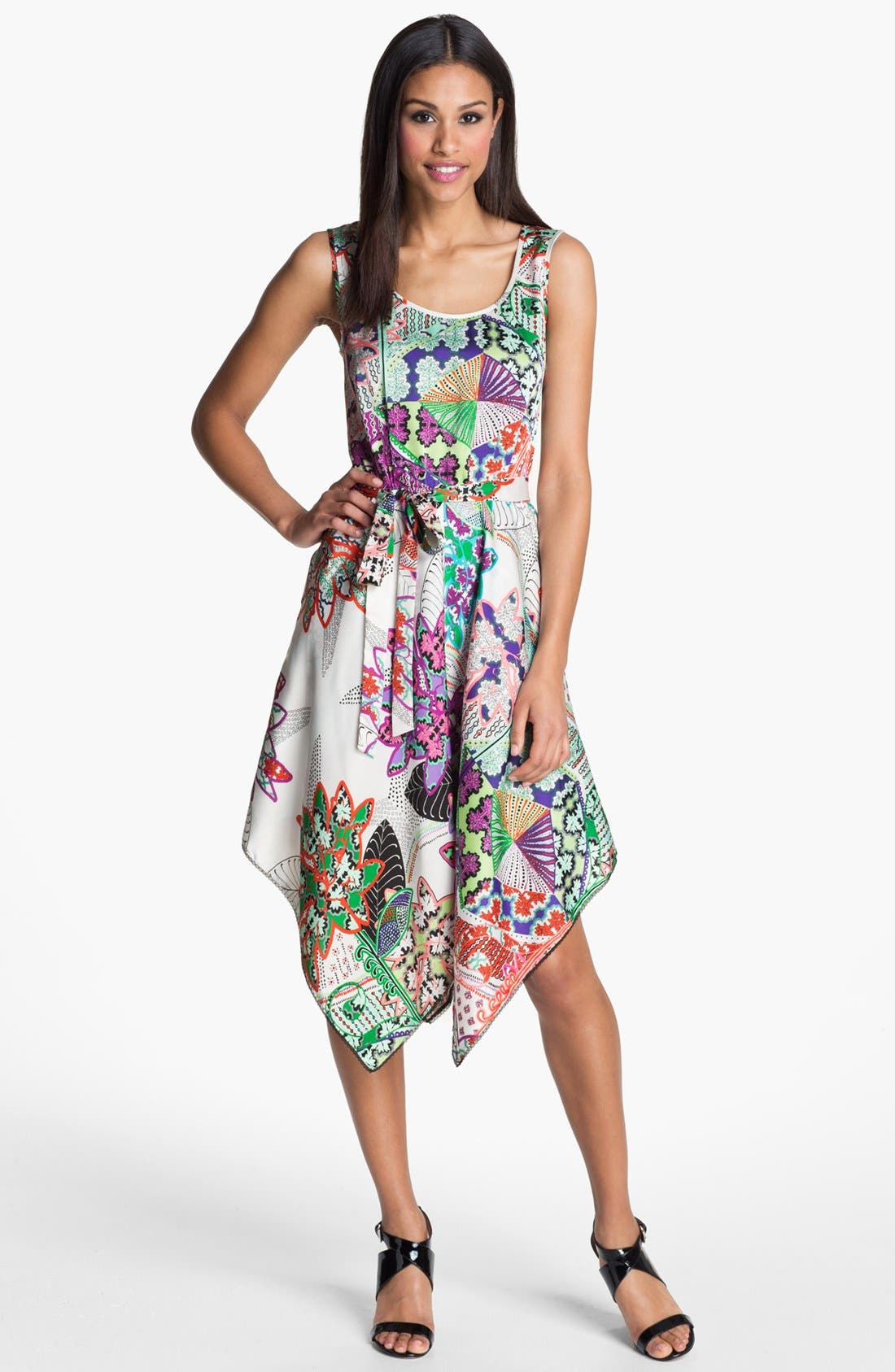 Alternate Image 1  - Donna Morgan Sleeveless Print Dress