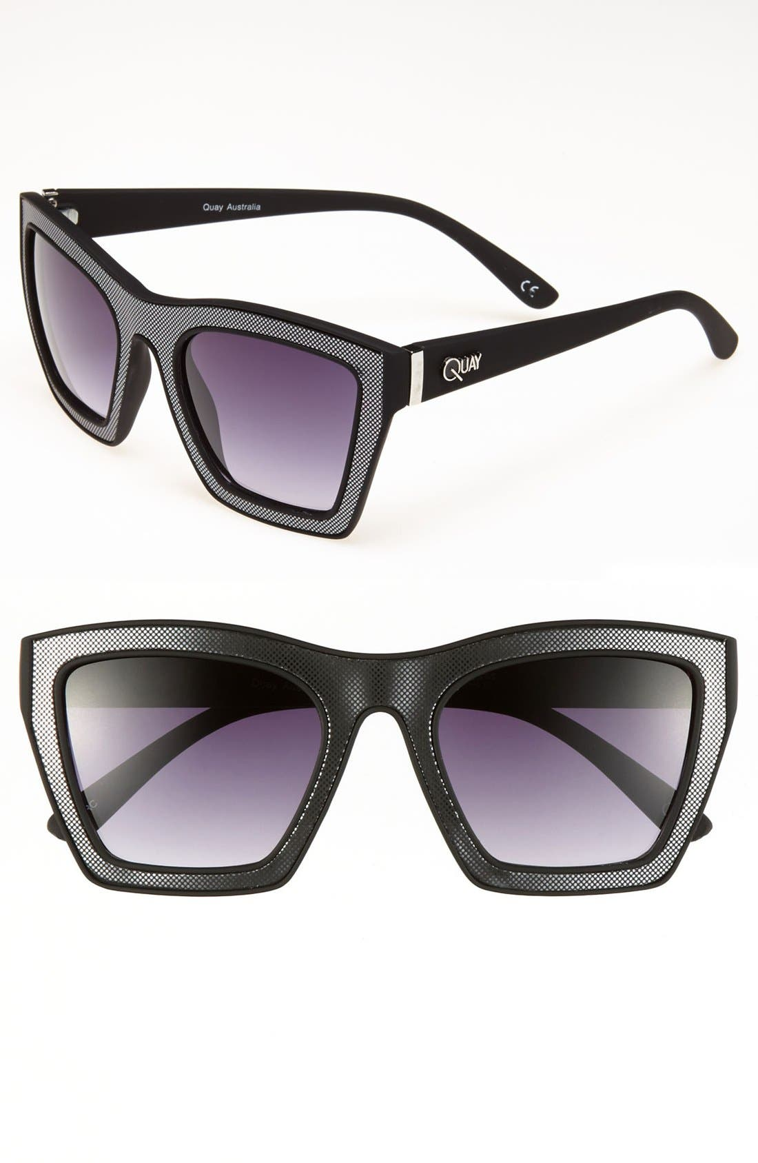 Main Image - Quay Retro Sunglasses