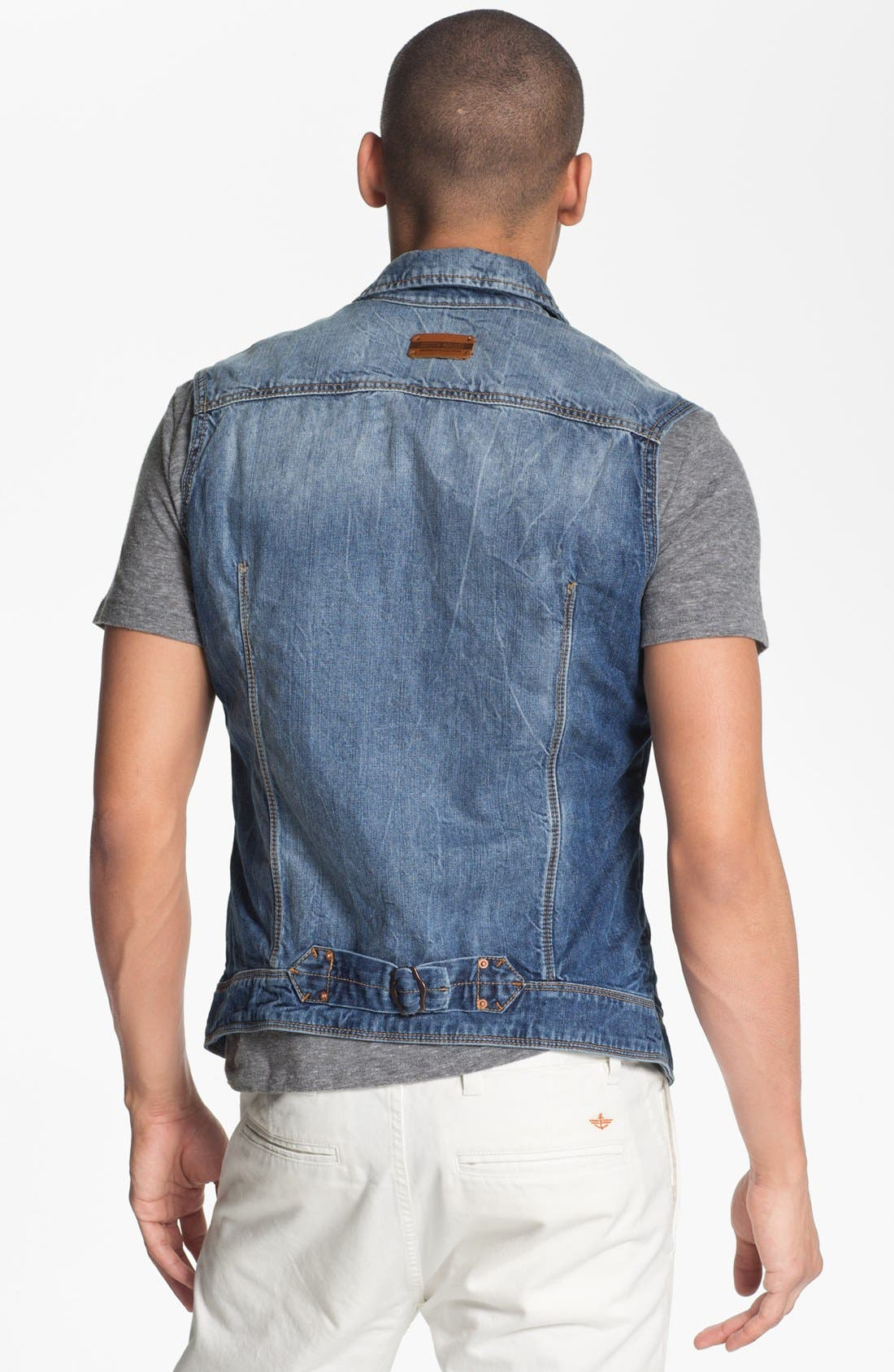 Alternate Image 2  - Antony Morato Denim Vest
