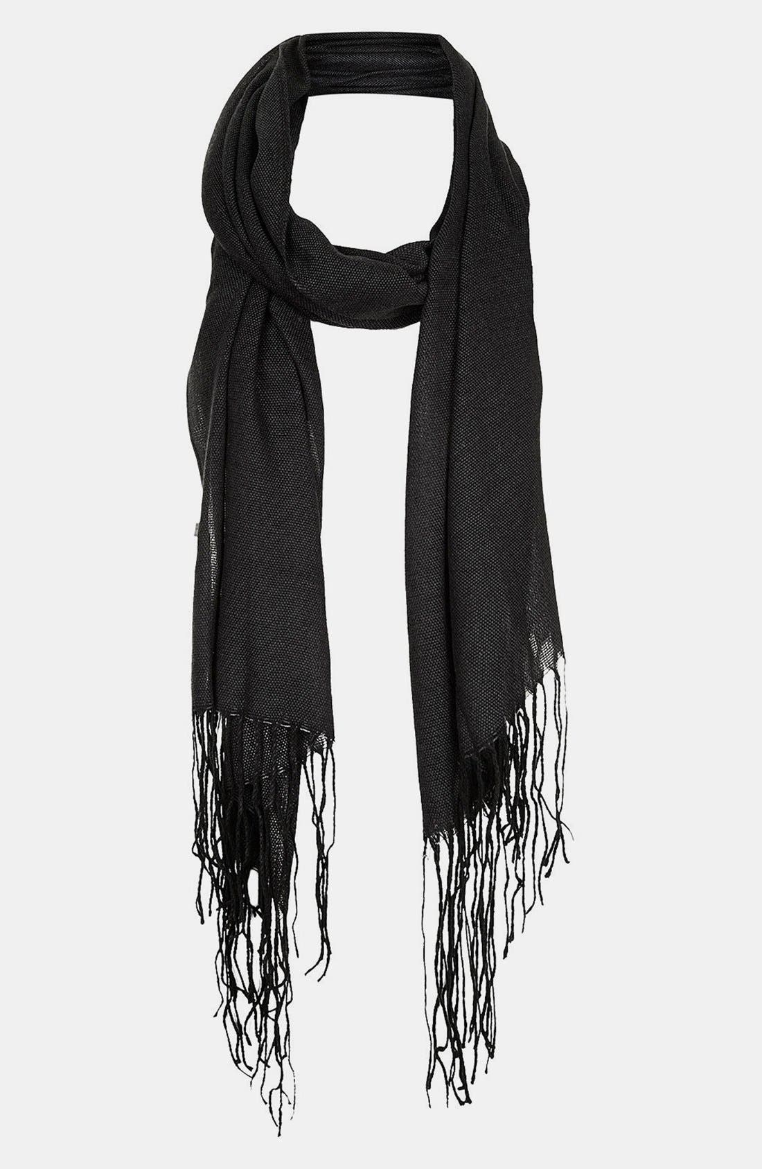 Alternate Image 1 Selected - Topshop Two Tone Scarf