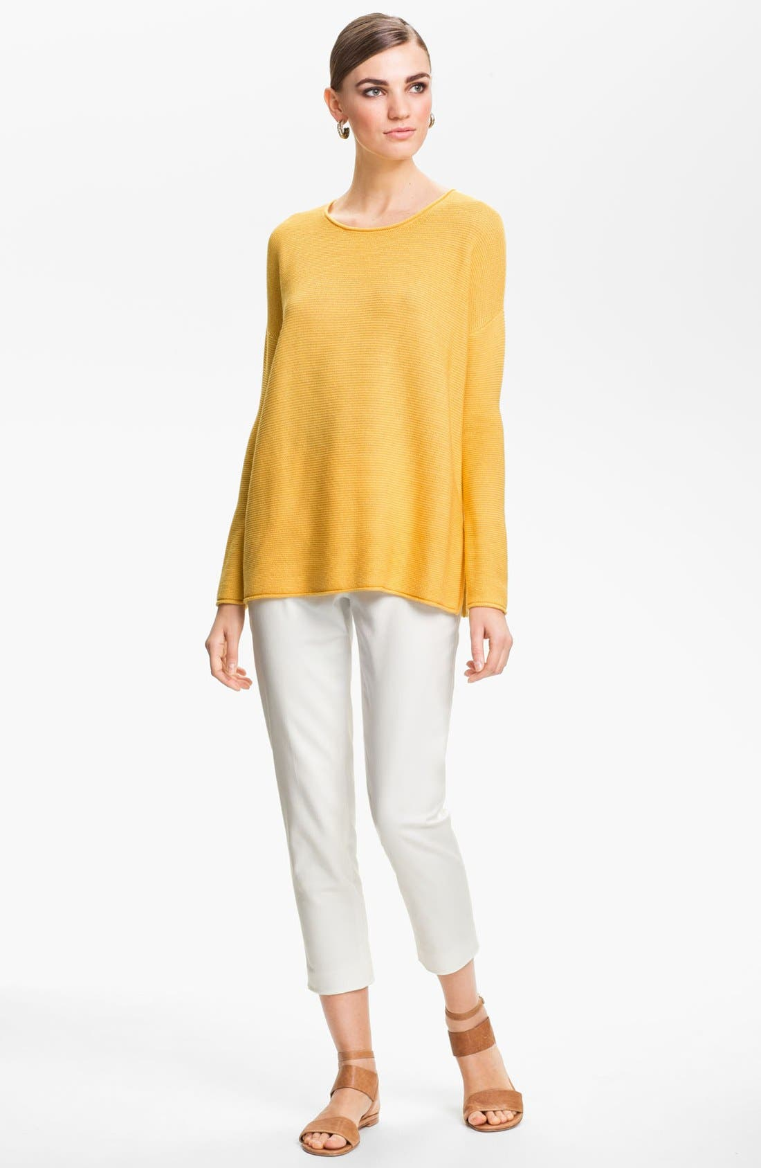 Alternate Image 2  - St. John Yellow Label Ottoman Knit Sweater
