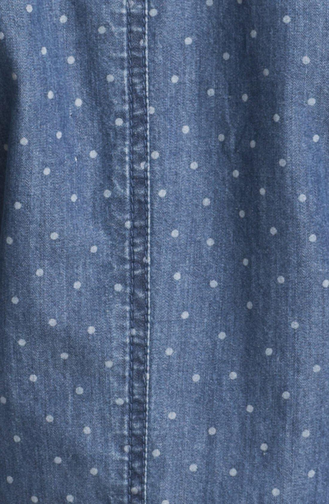 Alternate Image 3  - Caslon® Dot Print Jacket (Petite)