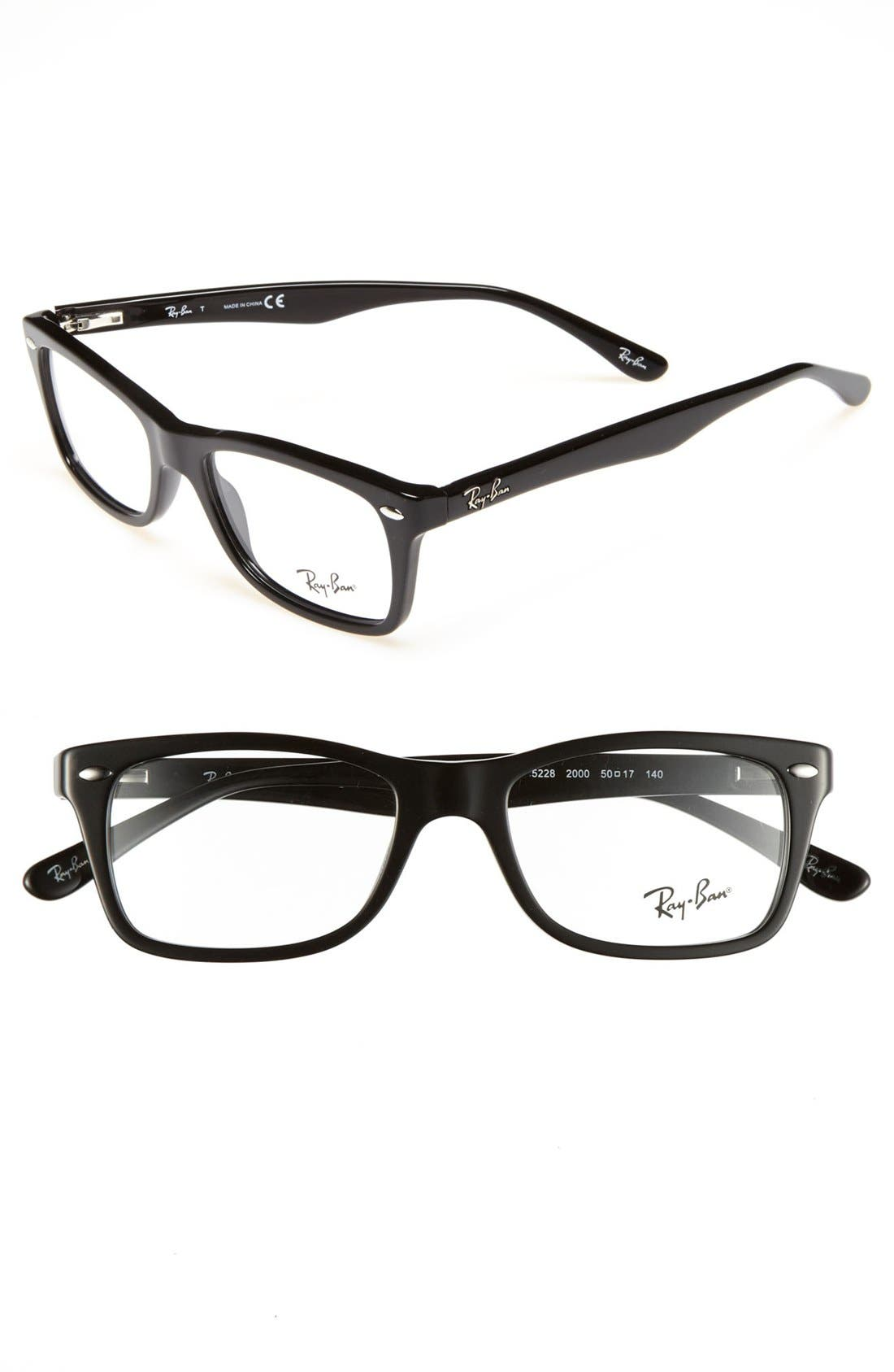 Main Image - Ray-Ban 50mm Optical Glasses (Online Exclusive)