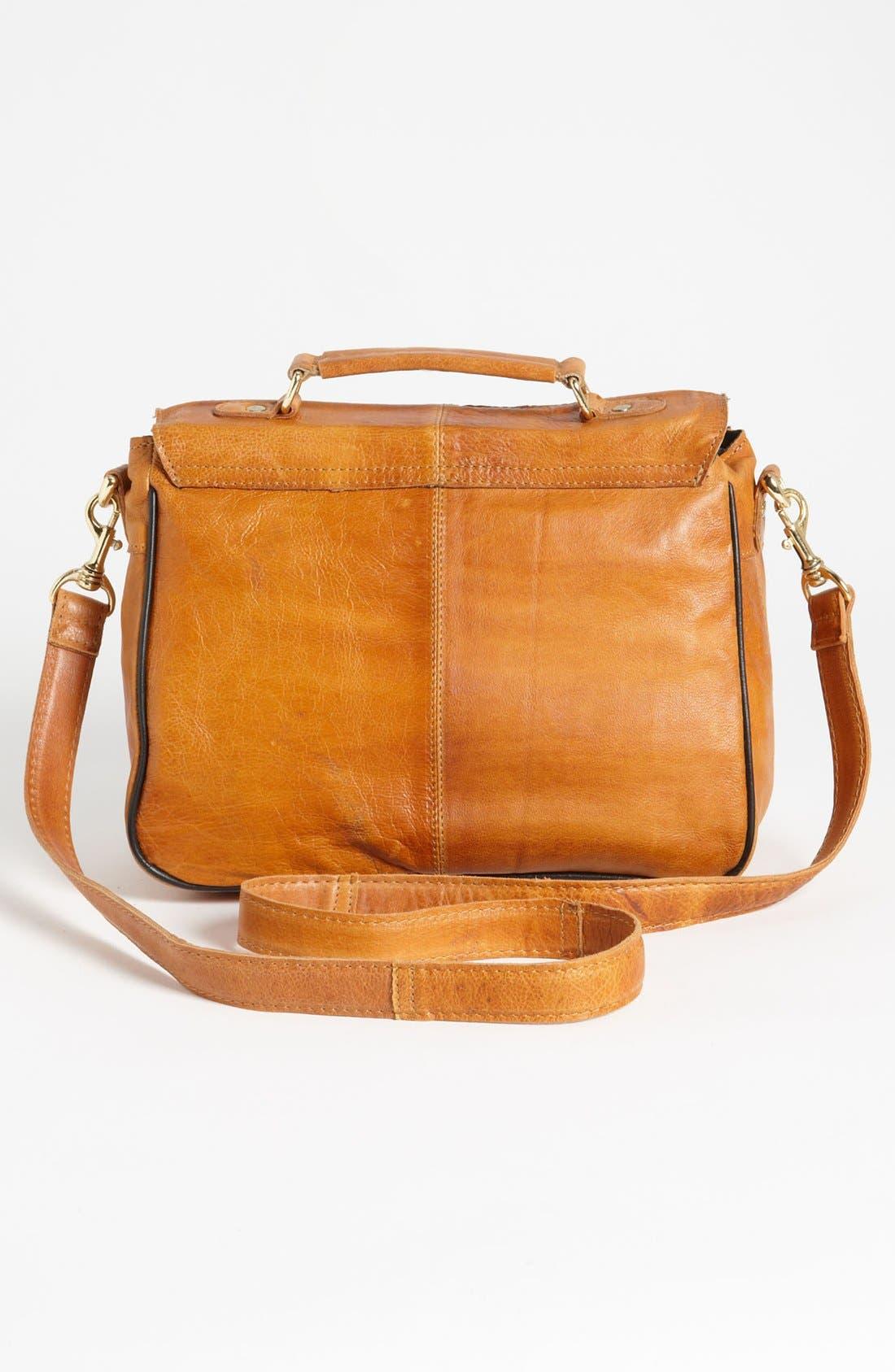 Alternate Image 3  - Topshop '70s' Leather Satchel