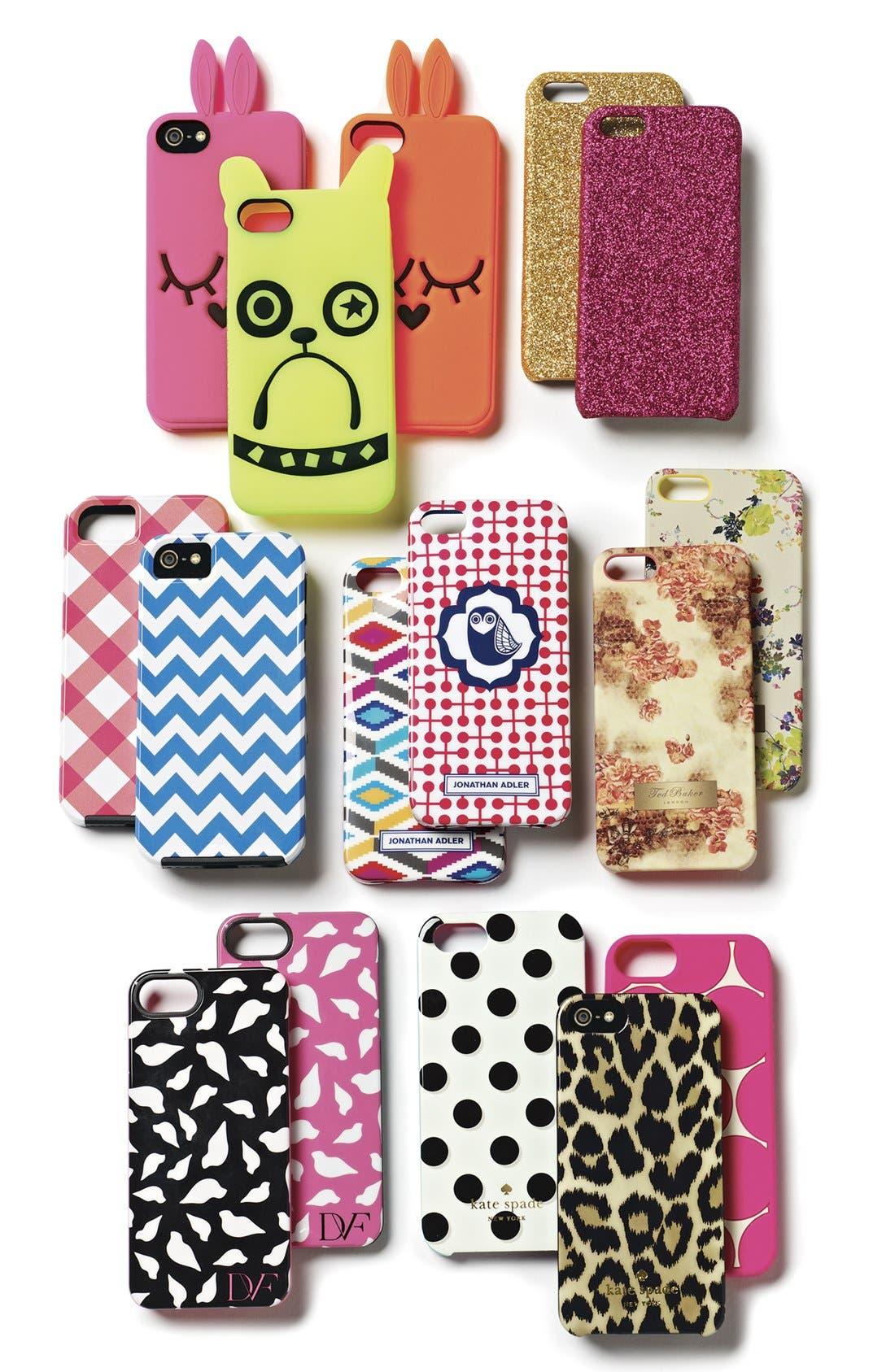Alternate Image 2  - kate spade new york 'leopard ikat' iPhone 5 & 5s case